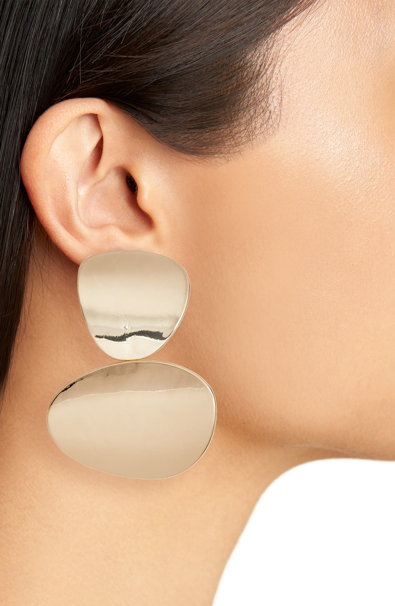 Disc Earrings,                             Alternate thumbnail 2, color,                             710