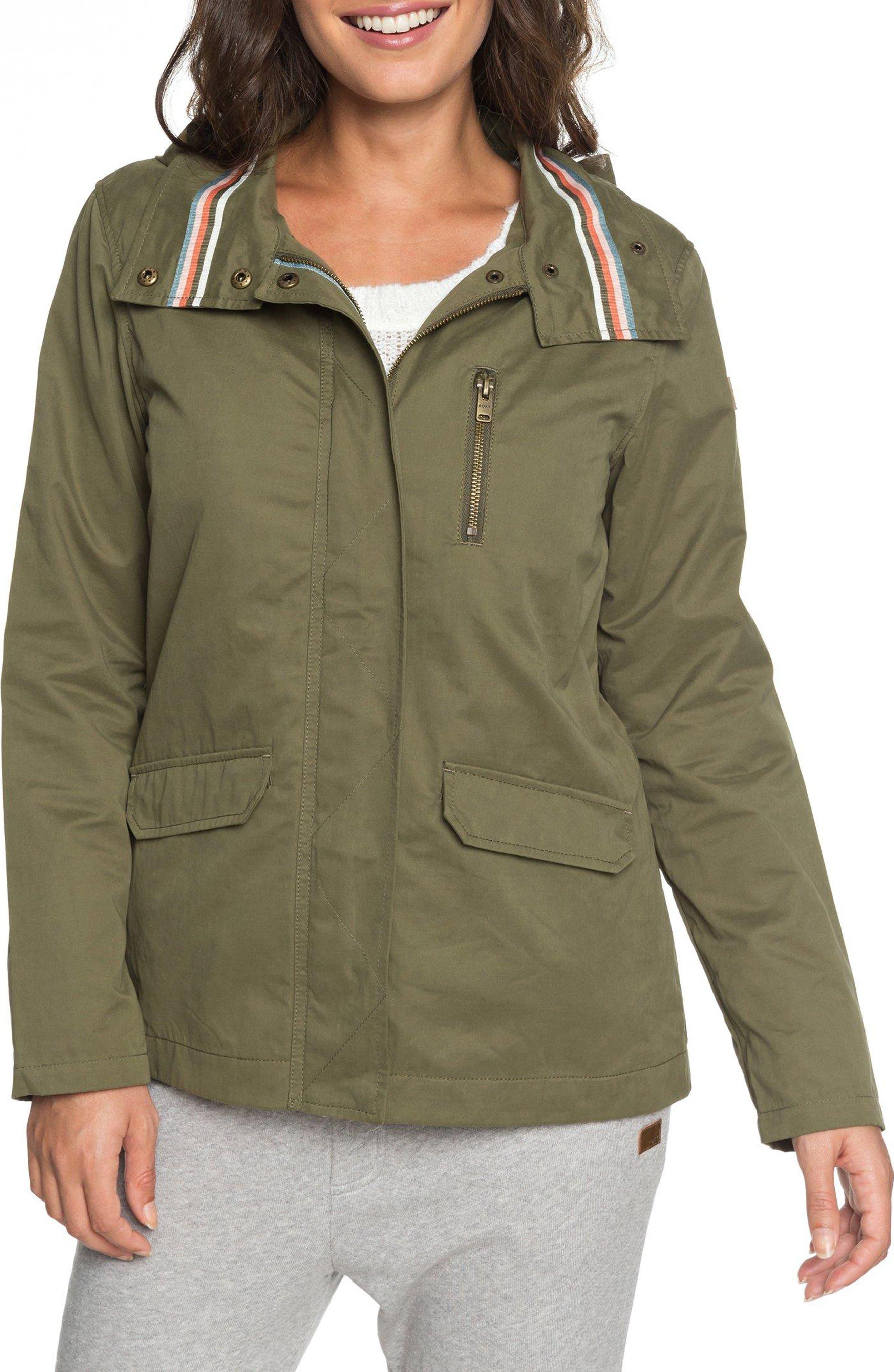 Lightning Strike Jacket,                         Main,                         color, BURNT OLIVE