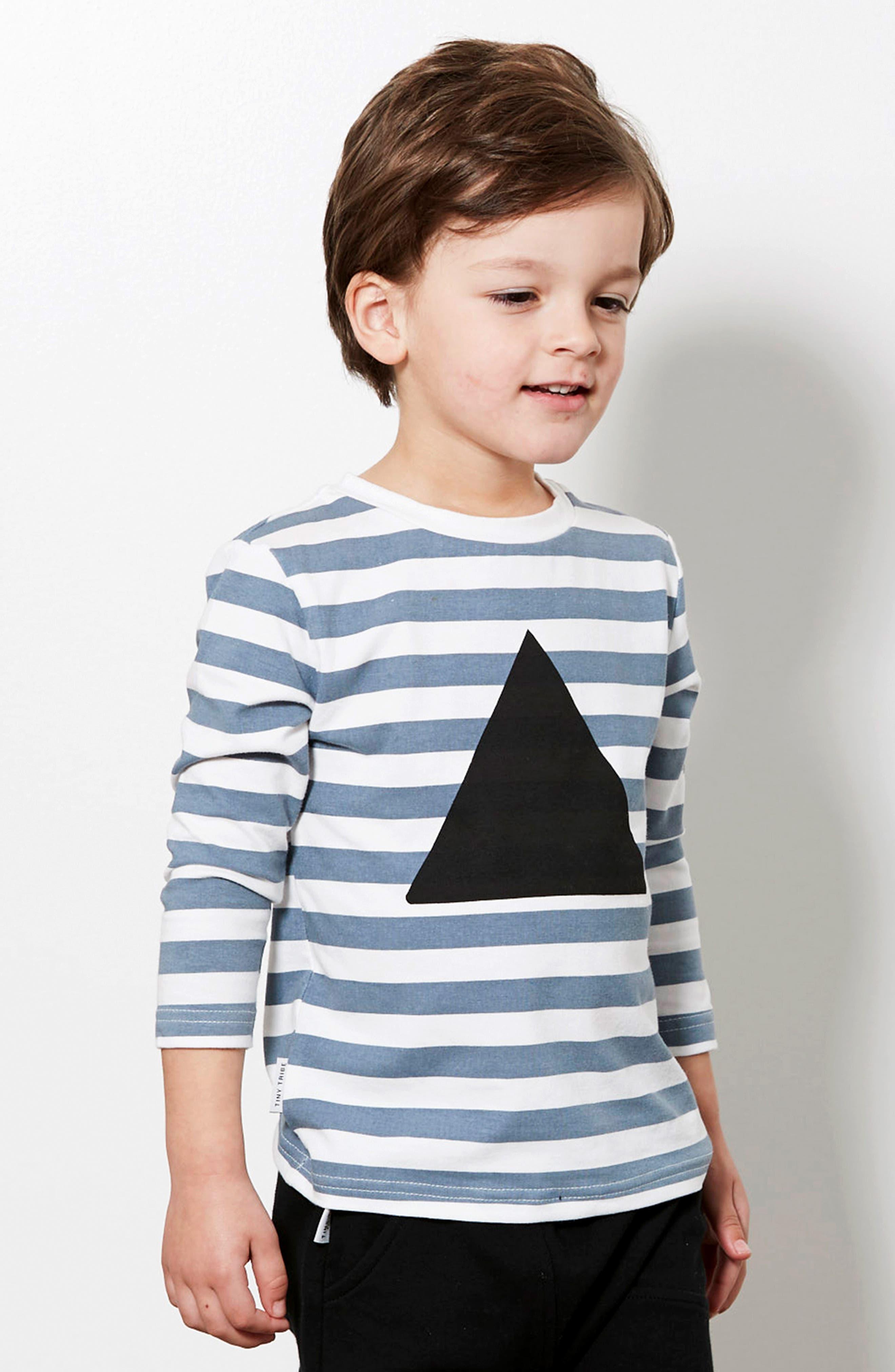 Triangle T-Shirt,                             Alternate thumbnail 4, color,                             400