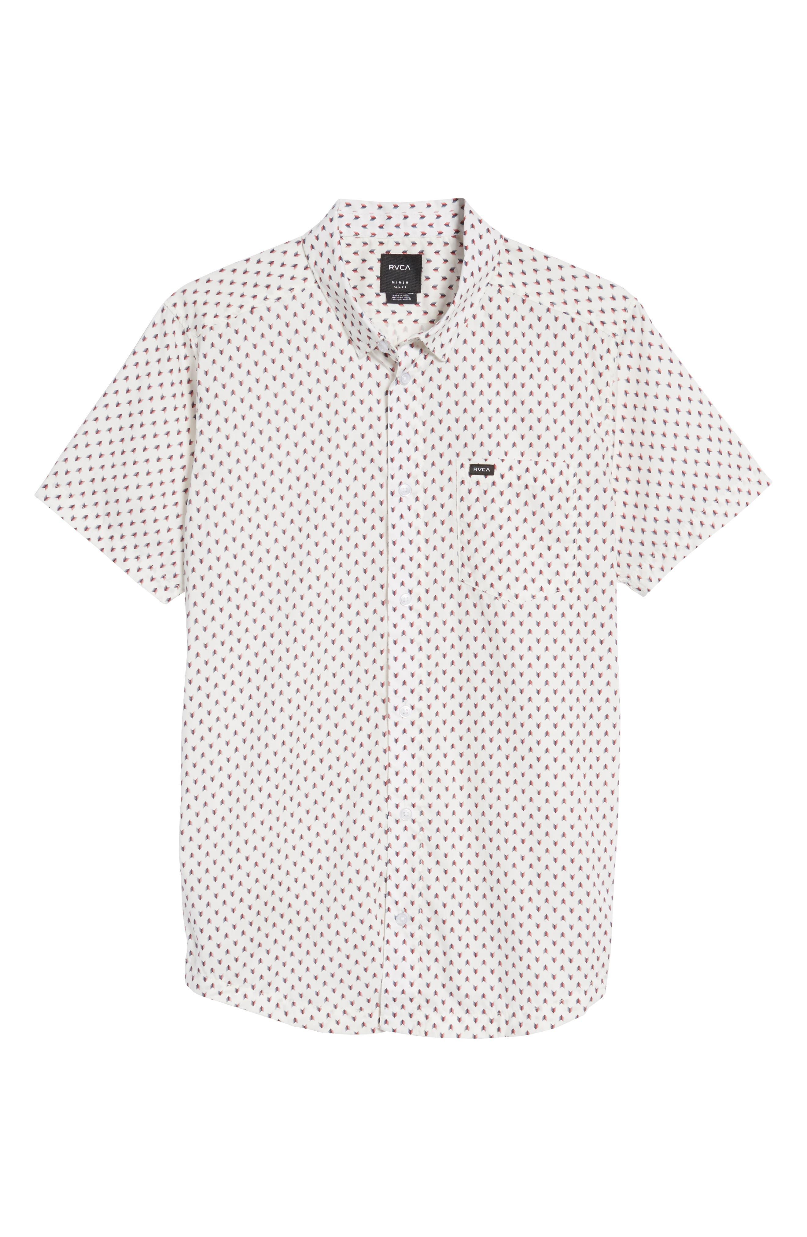 Arrowed Woven Shirt,                             Alternate thumbnail 12, color,