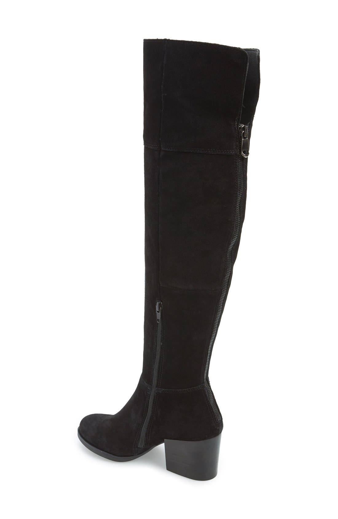 'Orabela' Knee High Boot,                             Alternate thumbnail 4, color,                             006