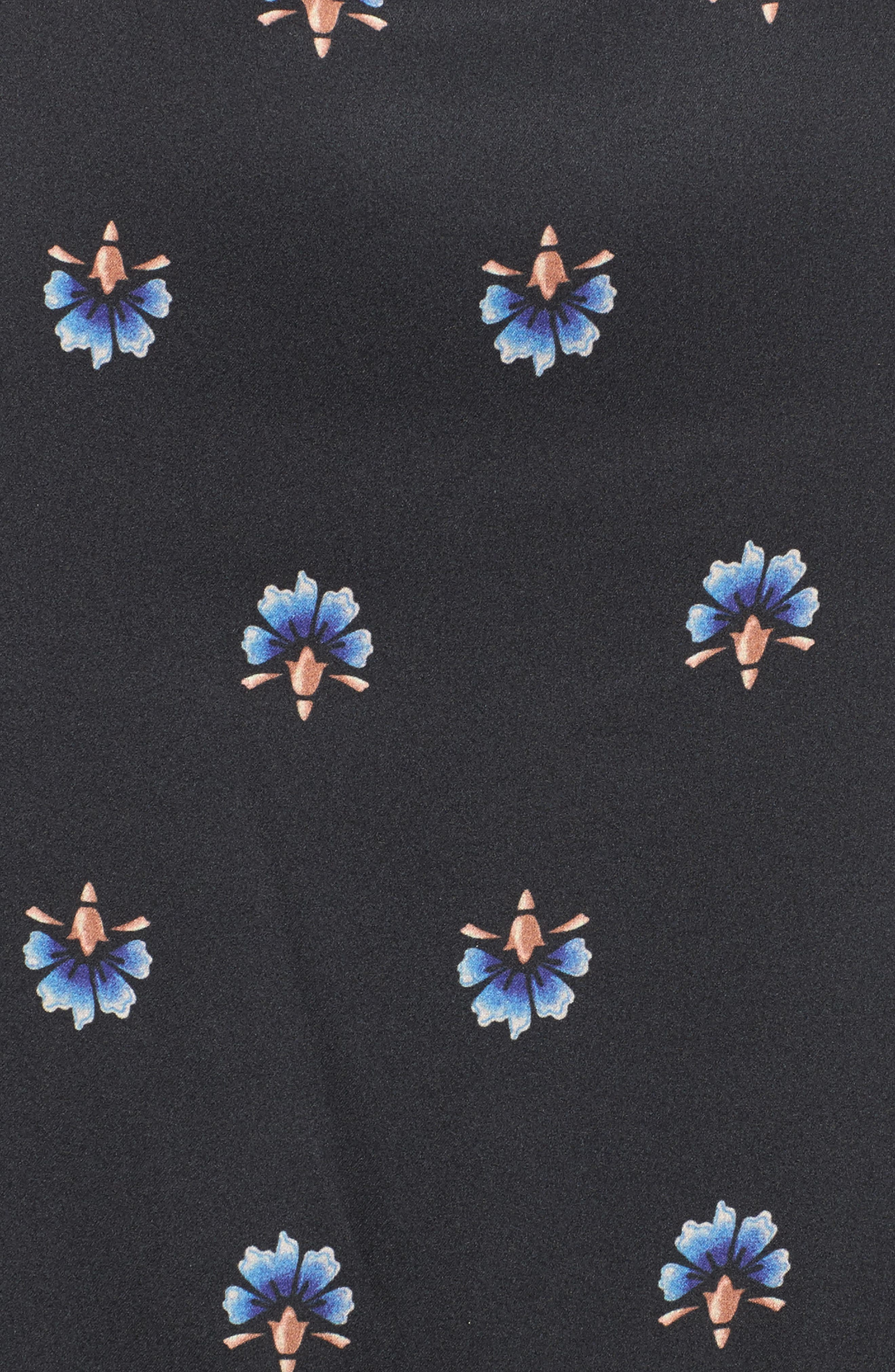 Lanna Tiered Maxi Dress,                             Alternate thumbnail 5, color,                             003