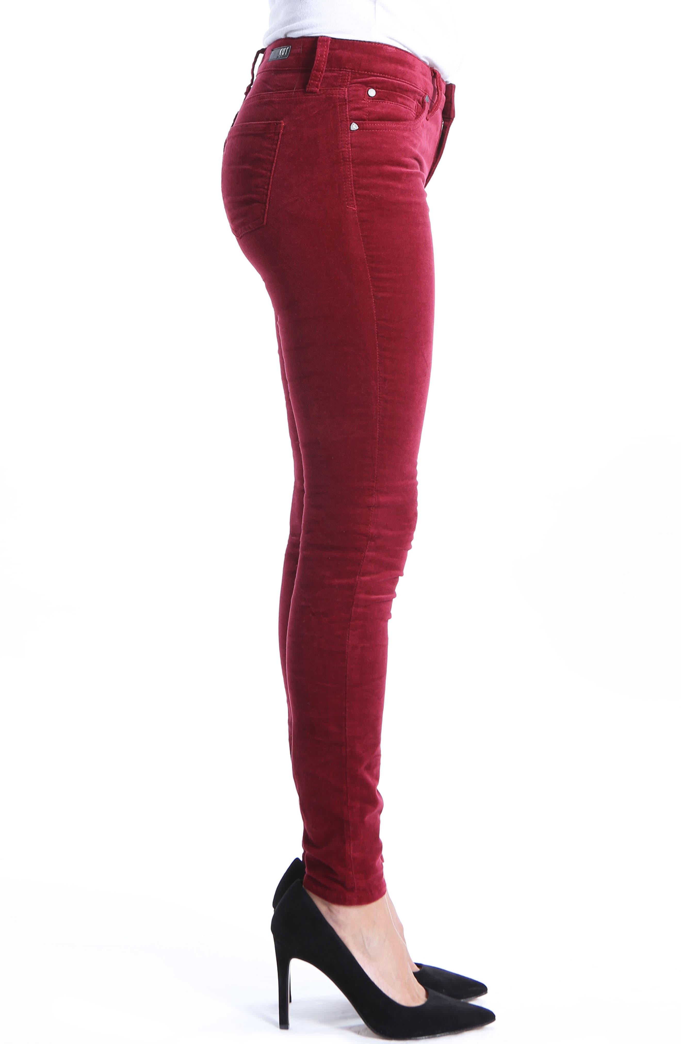 Mia Toothpick Jeans,                             Alternate thumbnail 3, color,                             603