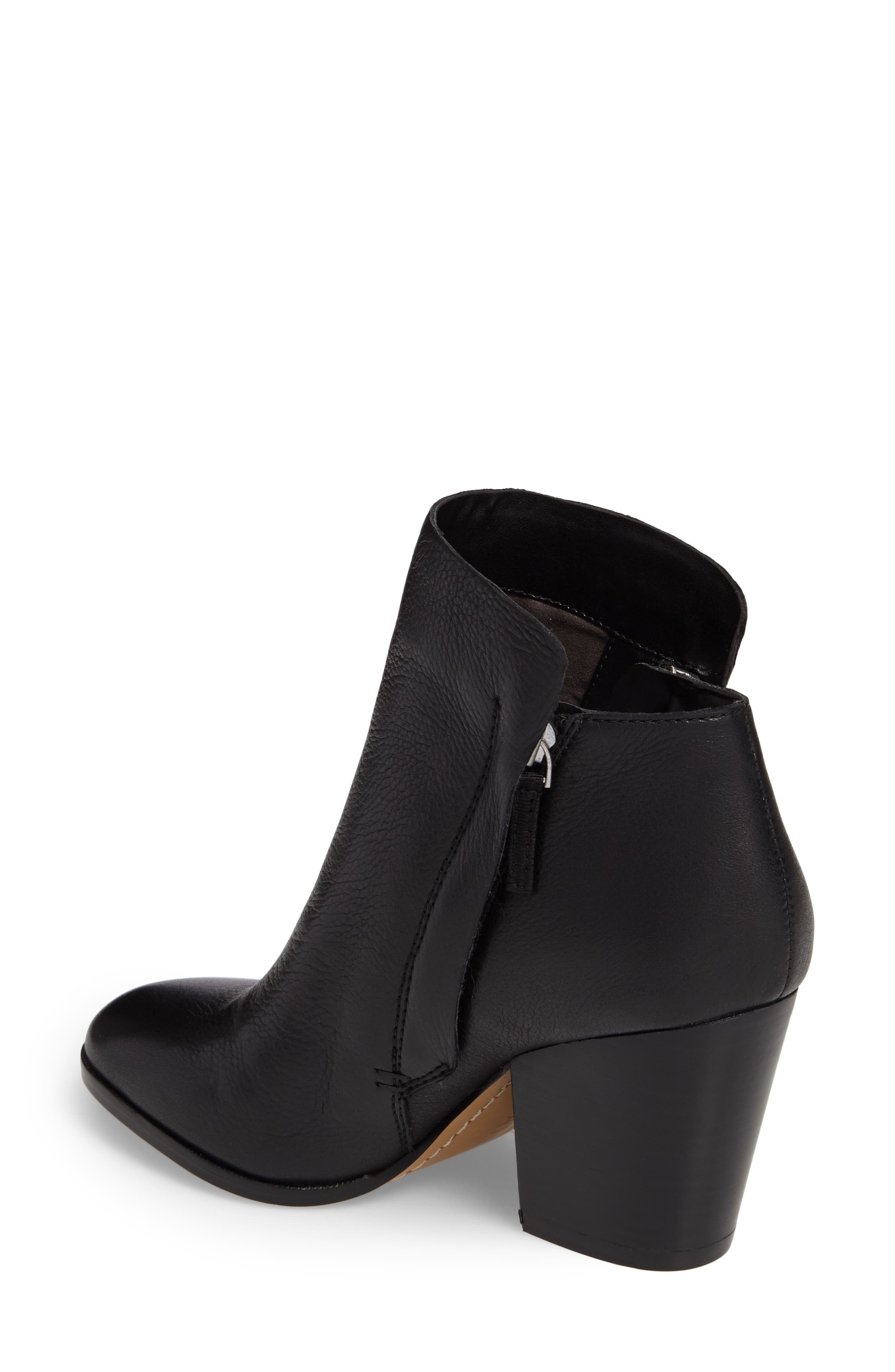 Taila Angle Zip Bootie,                             Alternate thumbnail 3, color,
