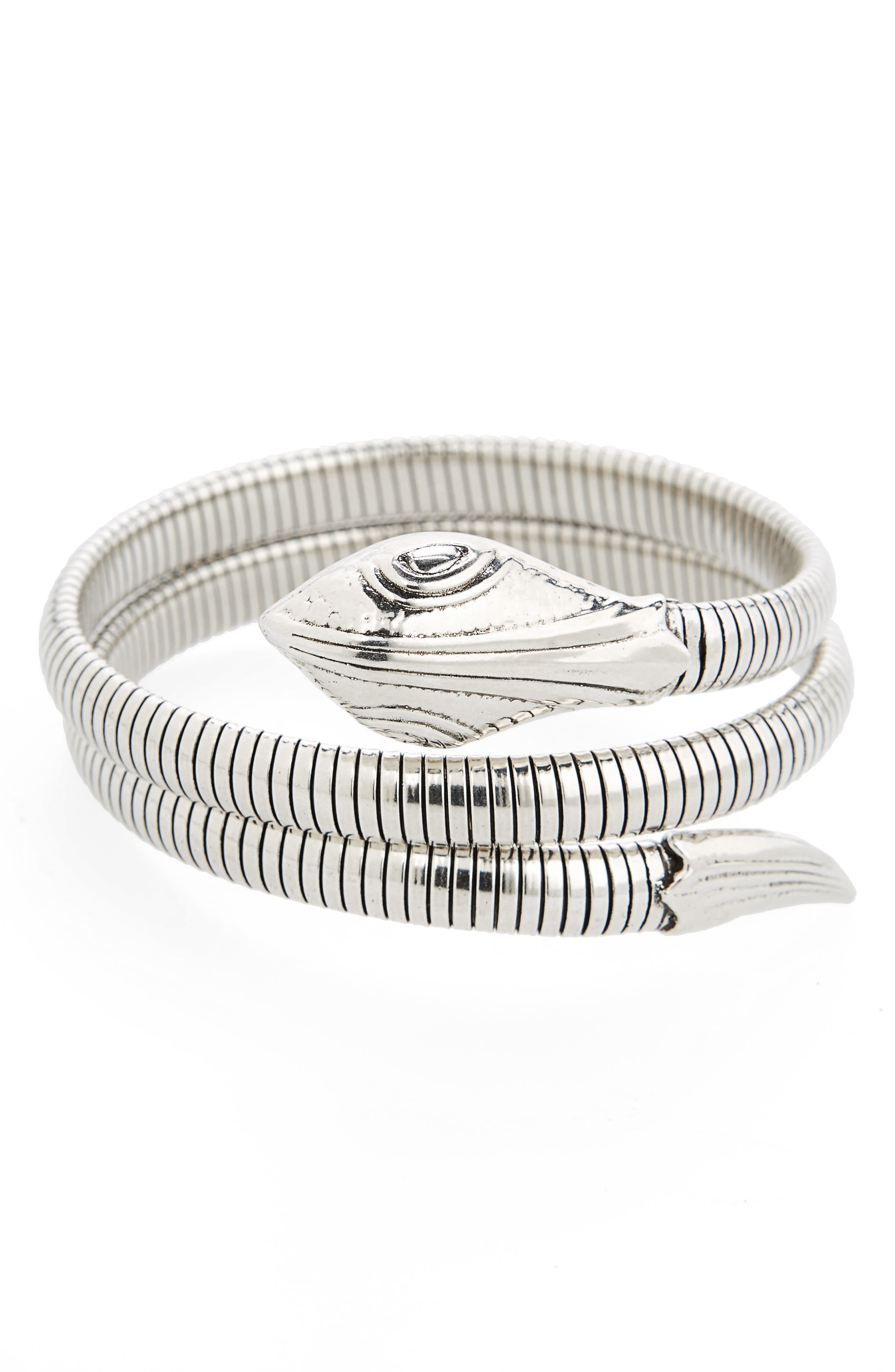 Snake Wrap Bracelet,                         Main,                         color, 040