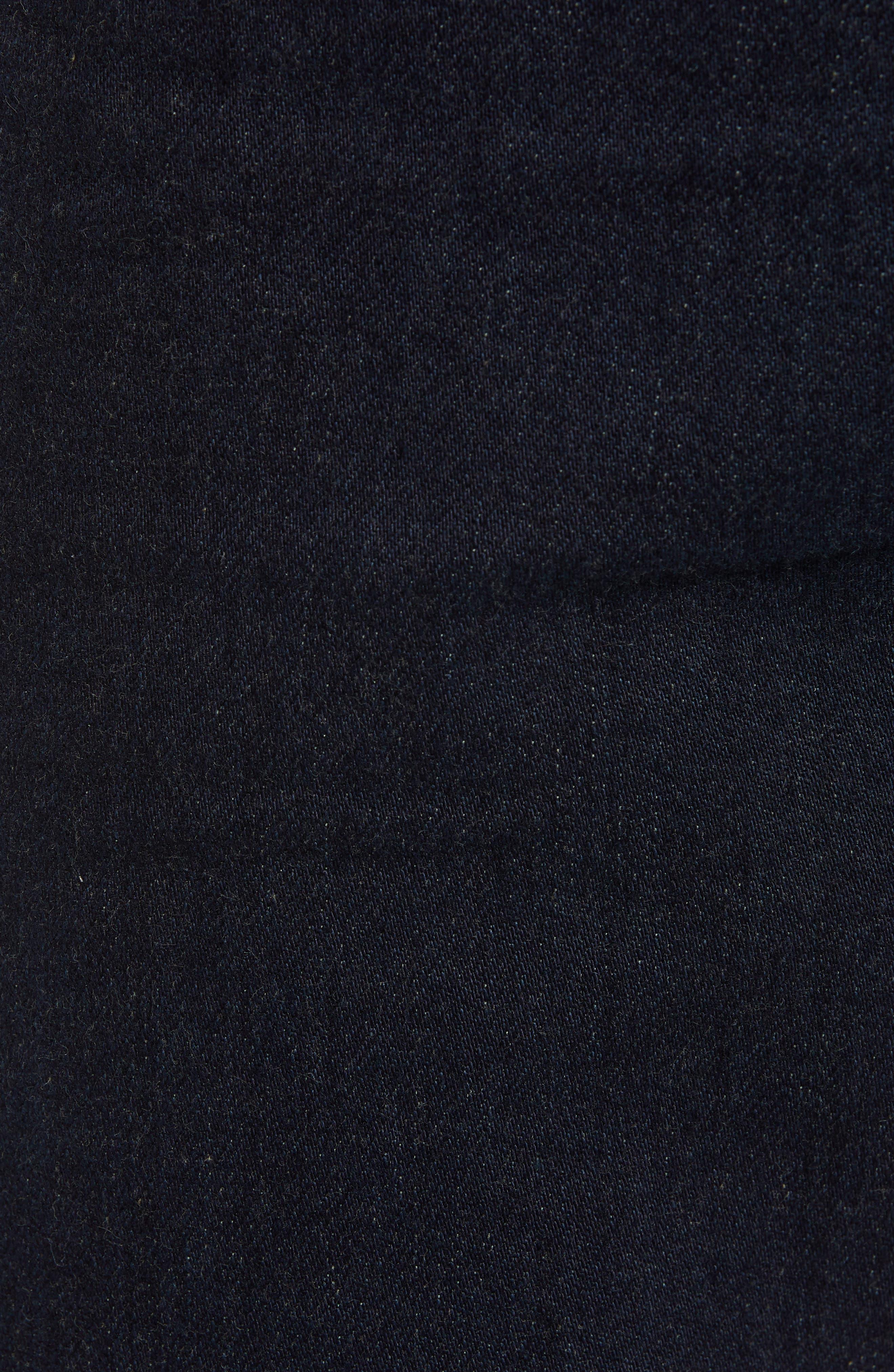 REVTOWN,                             Automatic Straight Leg Jeans,                             Alternate thumbnail 5, color,                             RINSE INDIGO