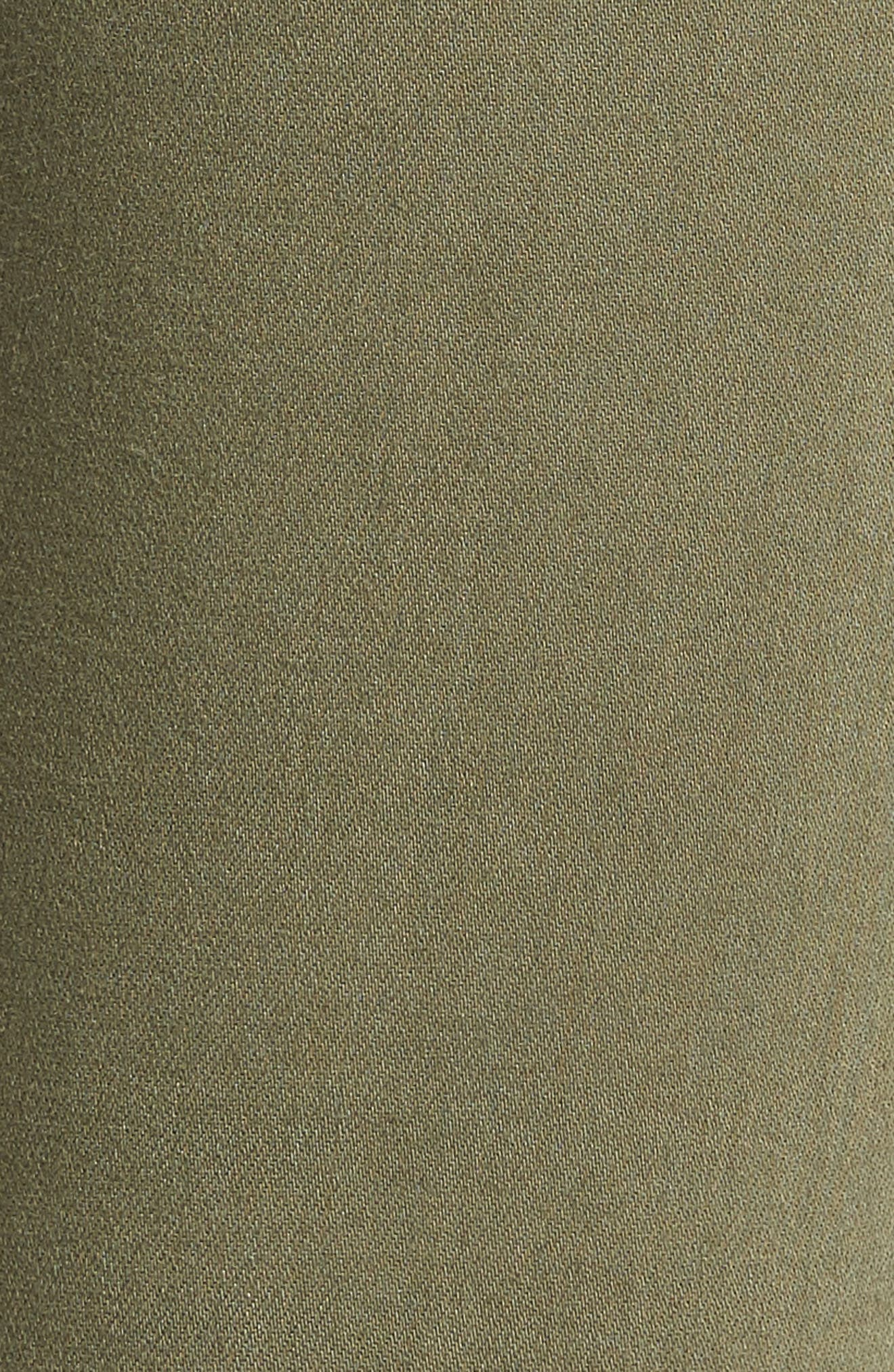 Hoxton Transcend High Waist Crop Skinny Jeans,                             Alternate thumbnail 6, color,