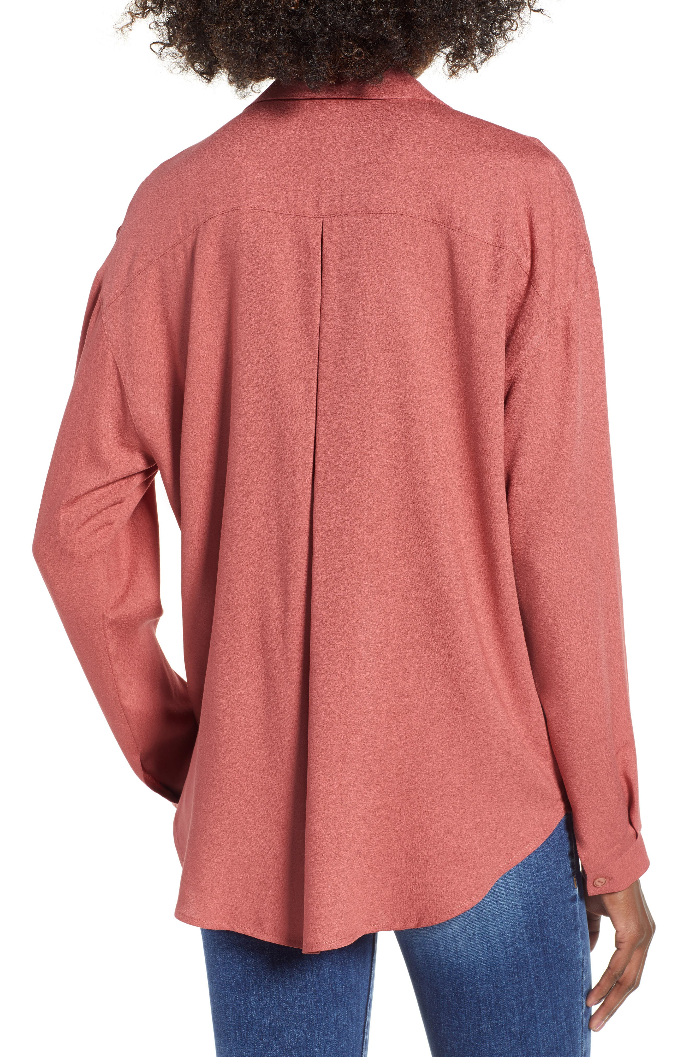 Slouchy Pocket Henley,                             Alternate thumbnail 11, color,