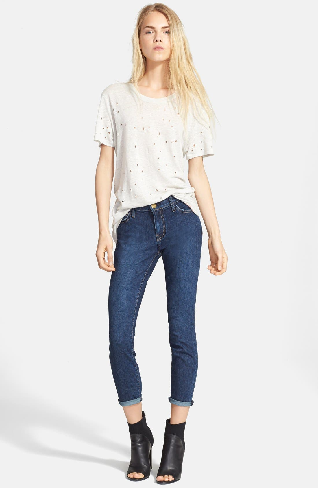 'The Stiletto' Stretch Jeans,                             Alternate thumbnail 8, color,