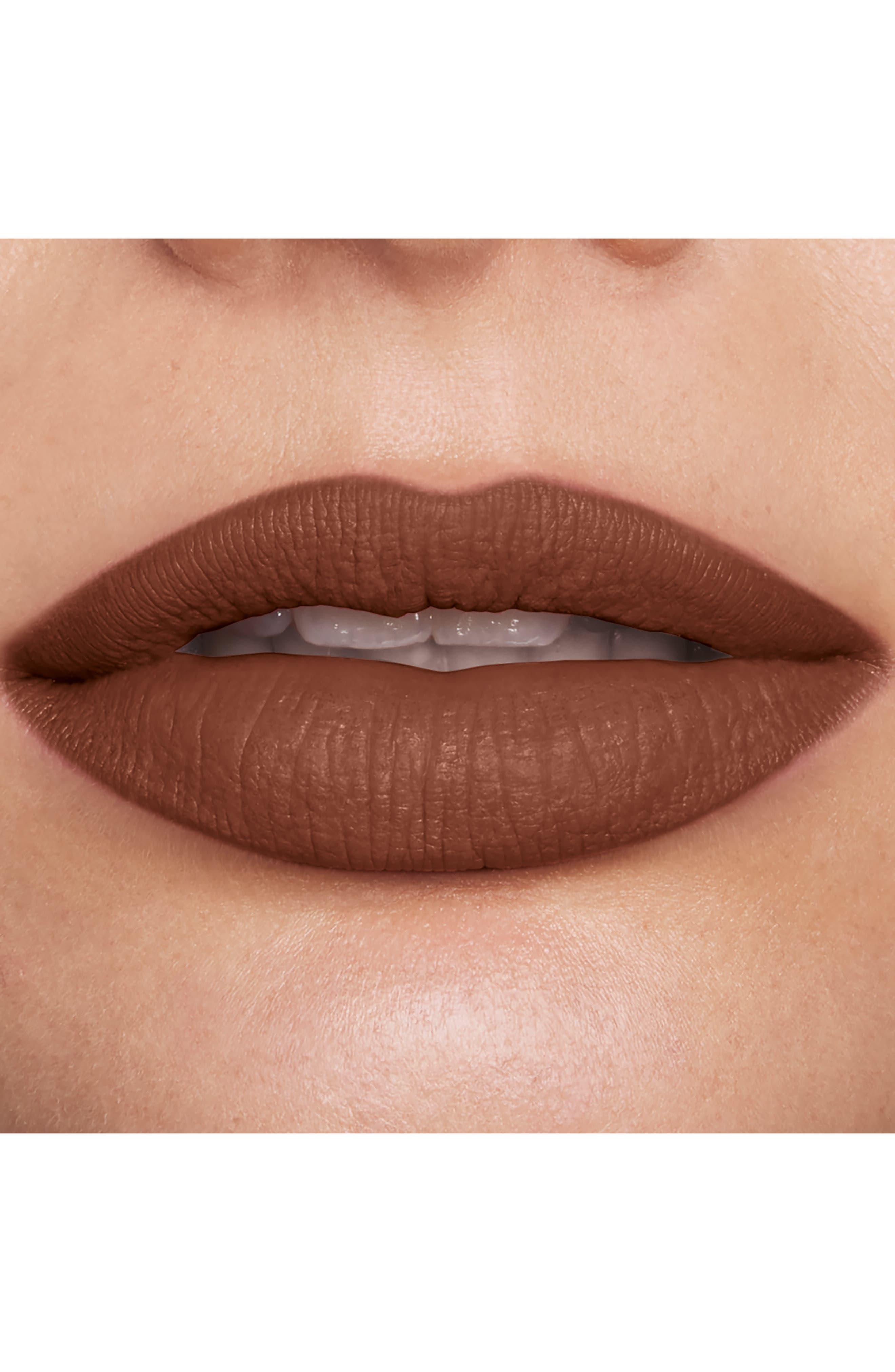 Velour Extreme Matte Lipstick,                             Alternate thumbnail 4, color,                             ROCK