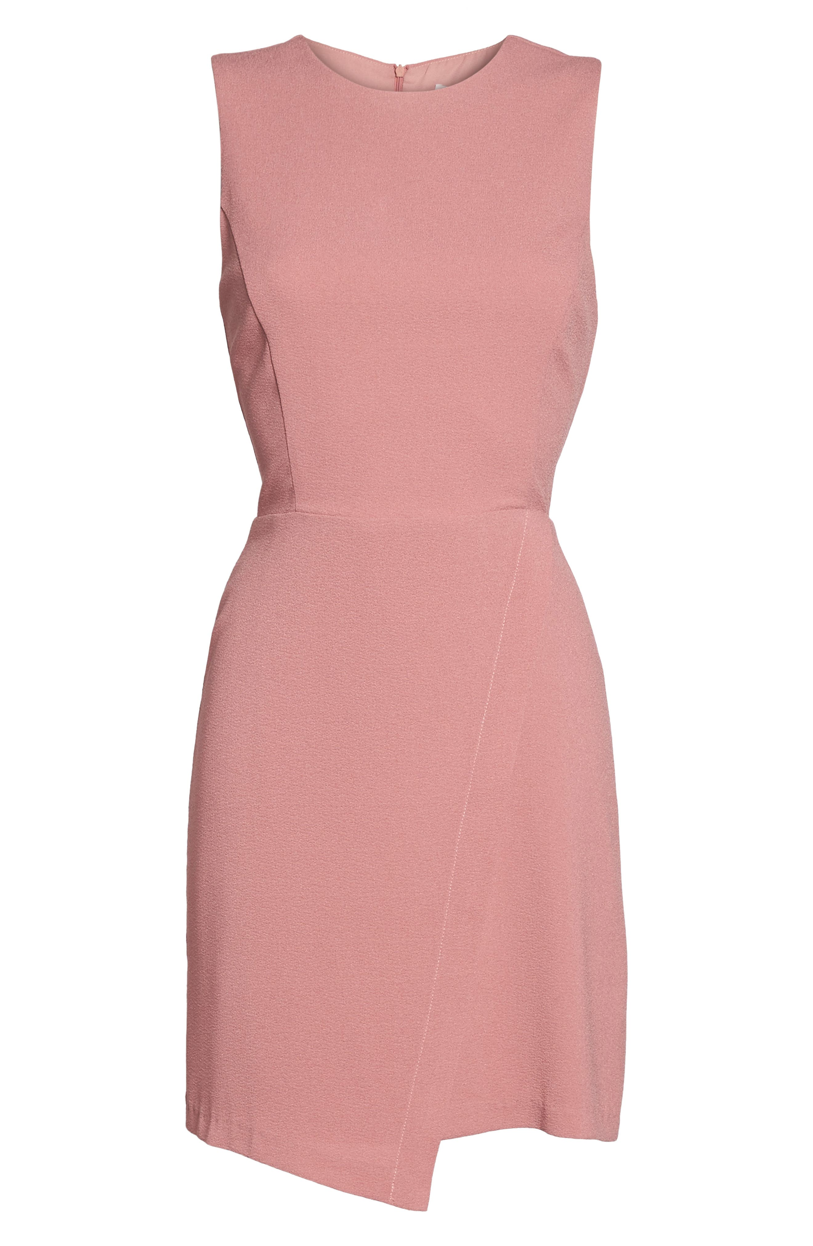 Faux Wrap Dress,                             Alternate thumbnail 6, color,                             533