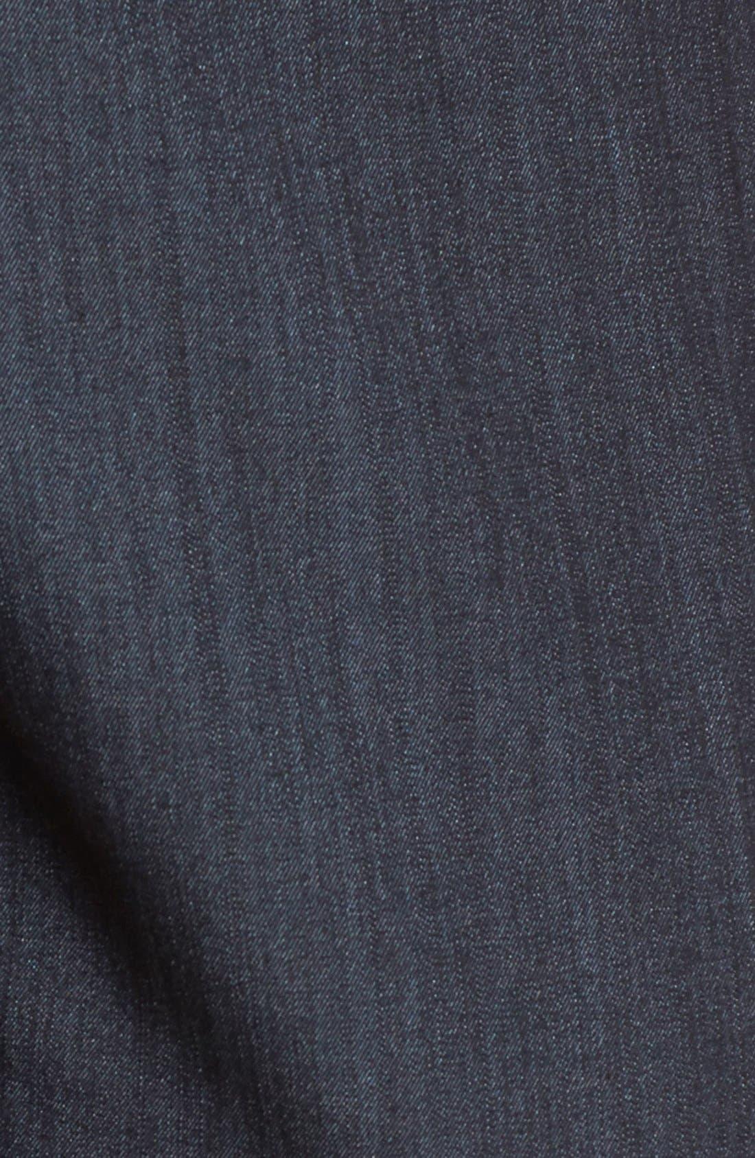 Slim Stretch Denim Suit Pants,                             Alternate thumbnail 6, color,                             INDIGO TWILL