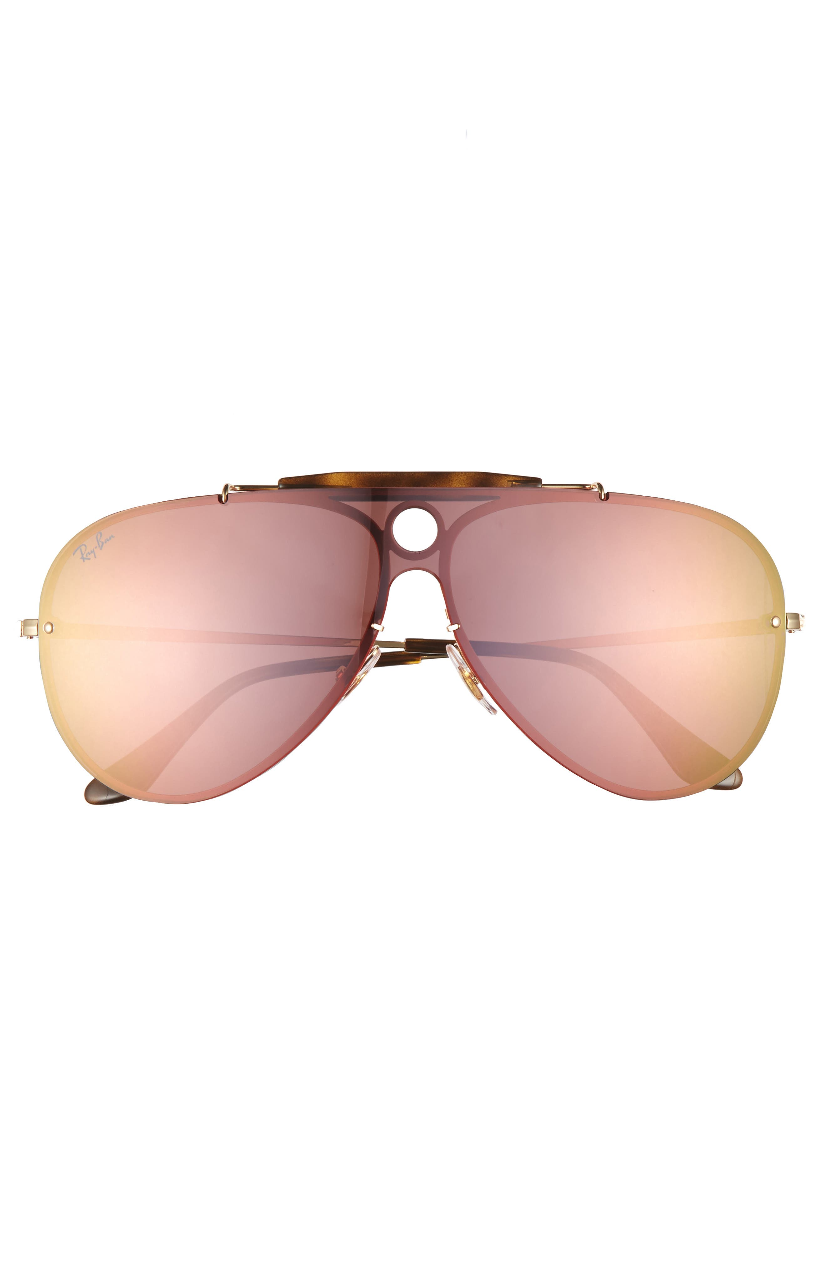 Aviator Shield Sunglasses,                             Alternate thumbnail 9, color,