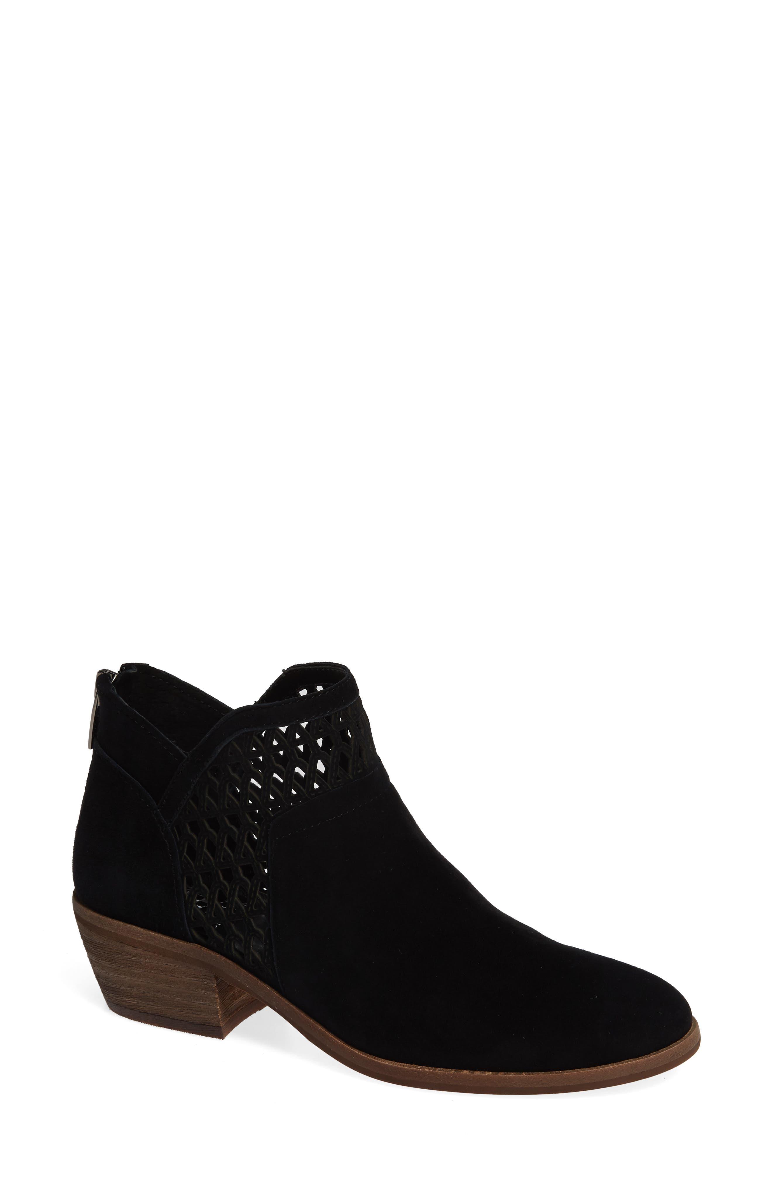 Perdula Boot,                         Main,                         color, BLACK SUEDE