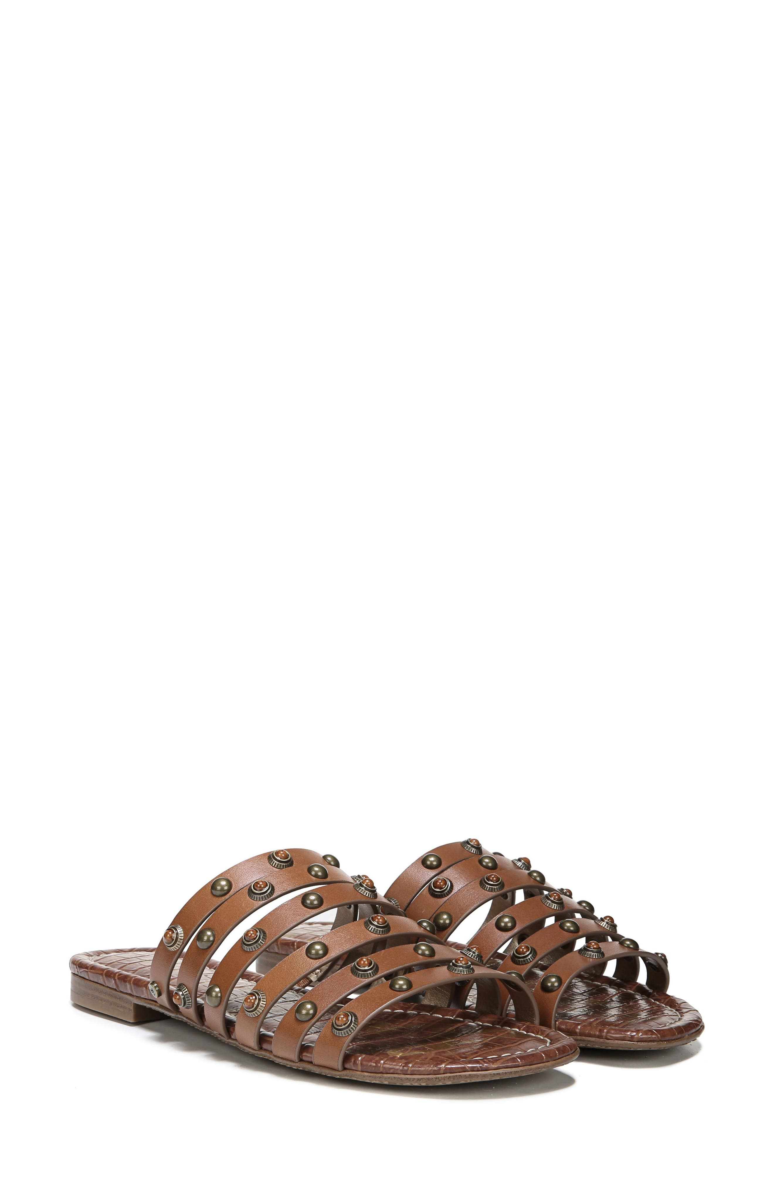 Brea Studded Slide Sandal,                             Alternate thumbnail 24, color,