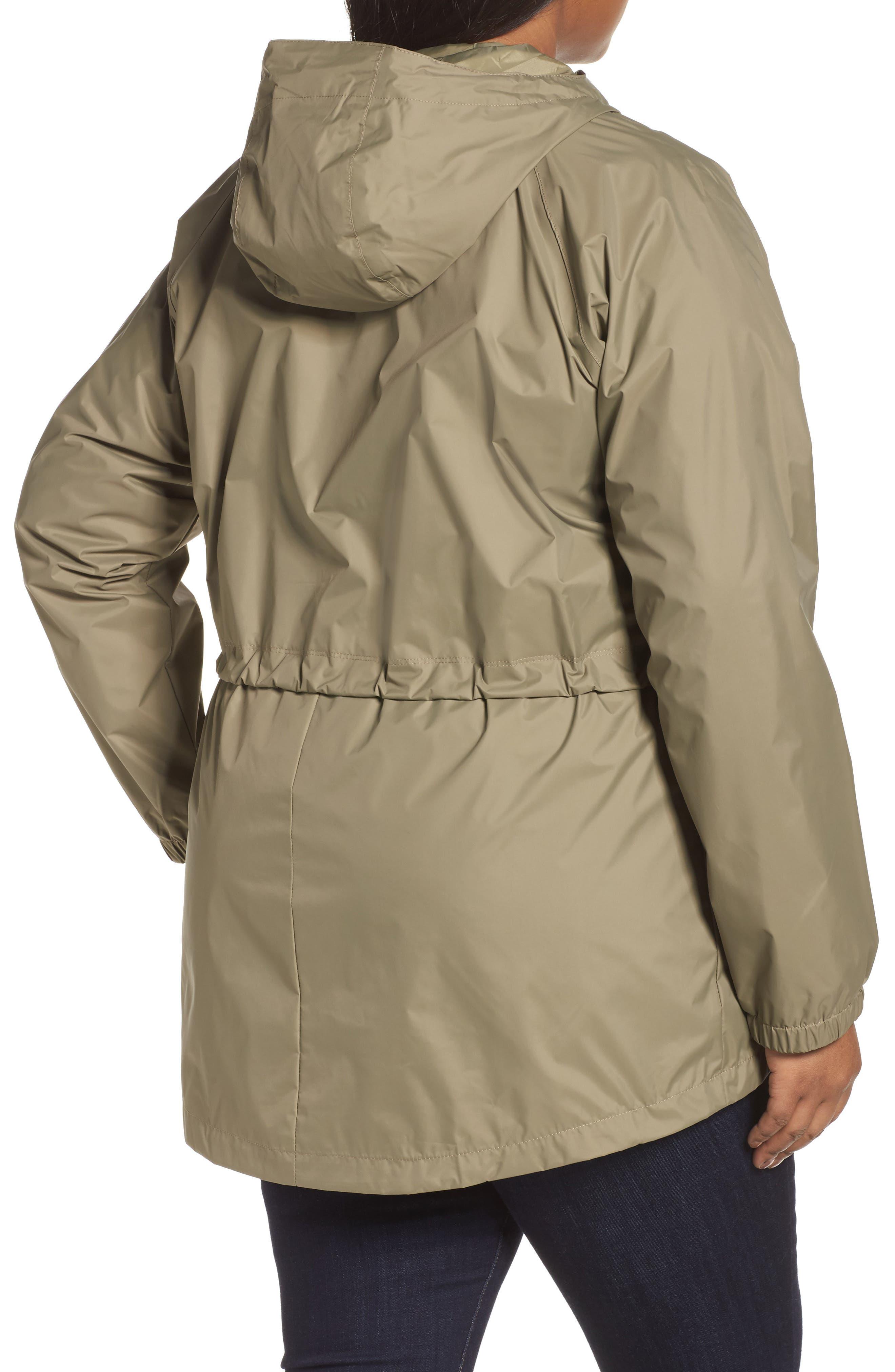 'Arcadia' Hooded Waterproof Casual Jacket,                             Alternate thumbnail 10, color,