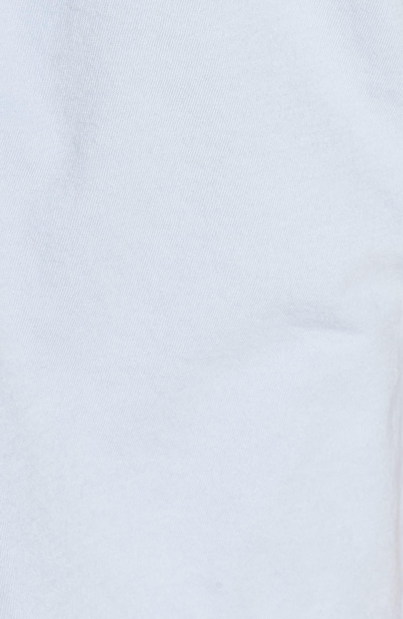 Short Sleeve Knit Pajamas,                             Alternate thumbnail 5, color,                             PERI SHADOW