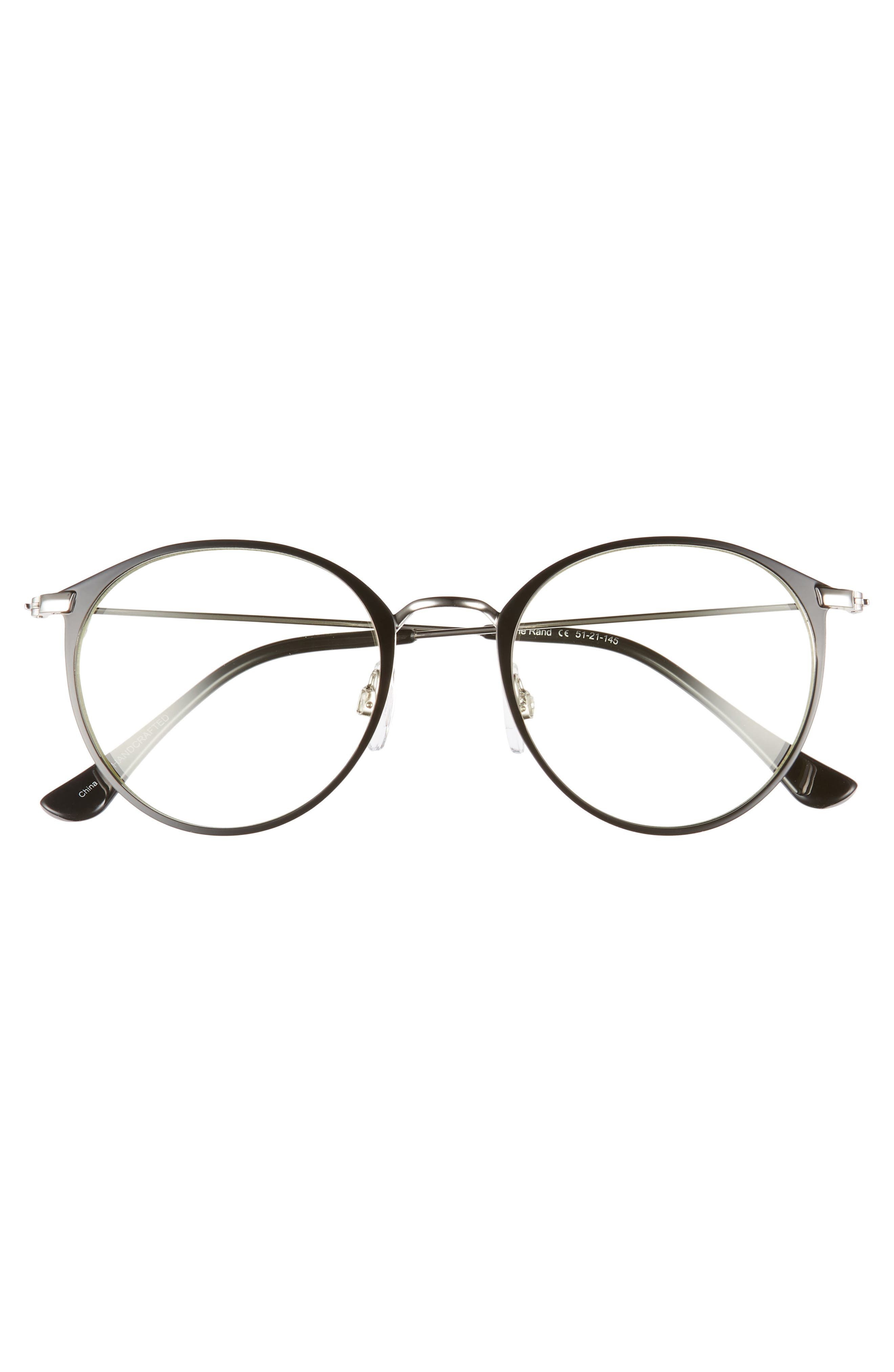 The Rand 51mm Blue Light Blocking Glasses,                             Alternate thumbnail 3, color,                             002