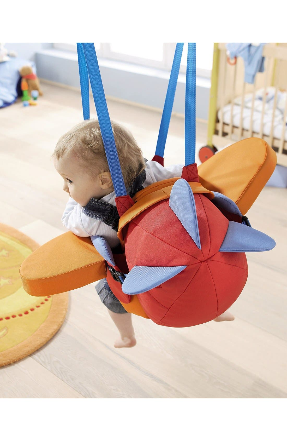 Aircraft Baby Swing,                             Alternate thumbnail 4, color,