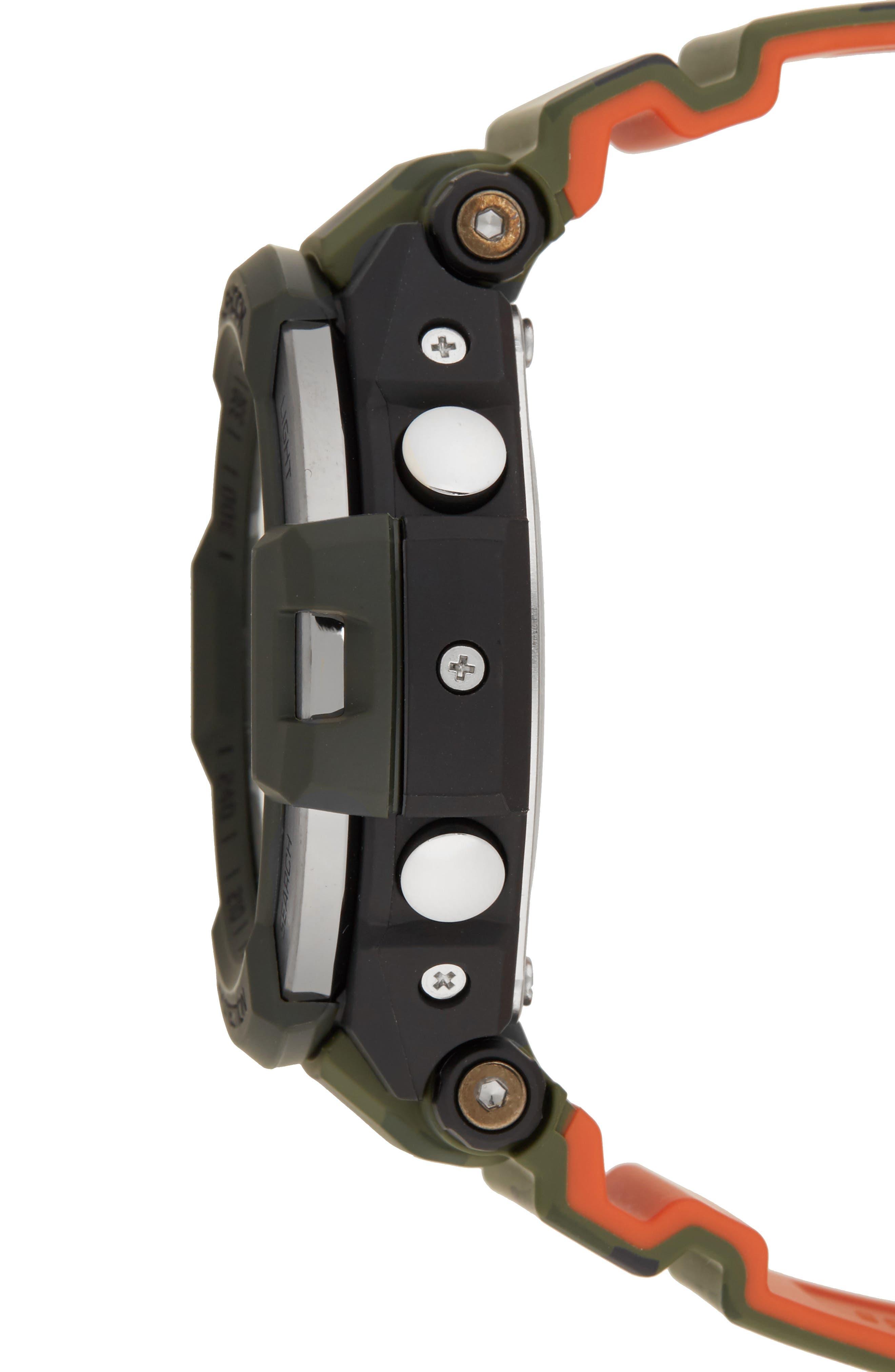 G-Shock Gravitymaster Ana-Digi Resin Watch, 52mm,                             Alternate thumbnail 3, color,                             300