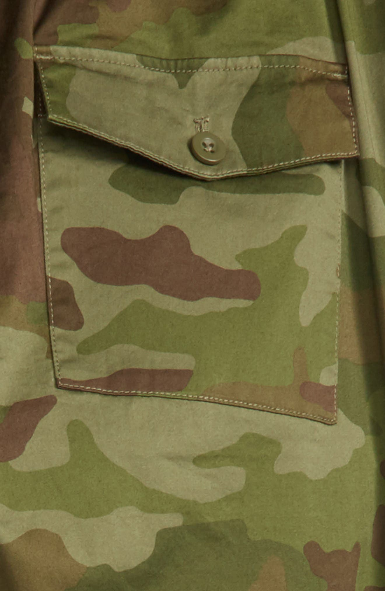 Camo Pull-On Pants,                             Alternate thumbnail 3, color,                             300