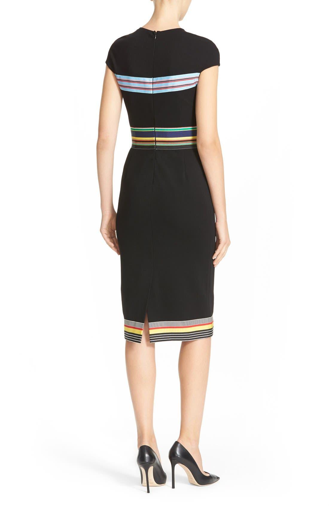 Hadlie Sheath Dress,                             Alternate thumbnail 5, color,                             001