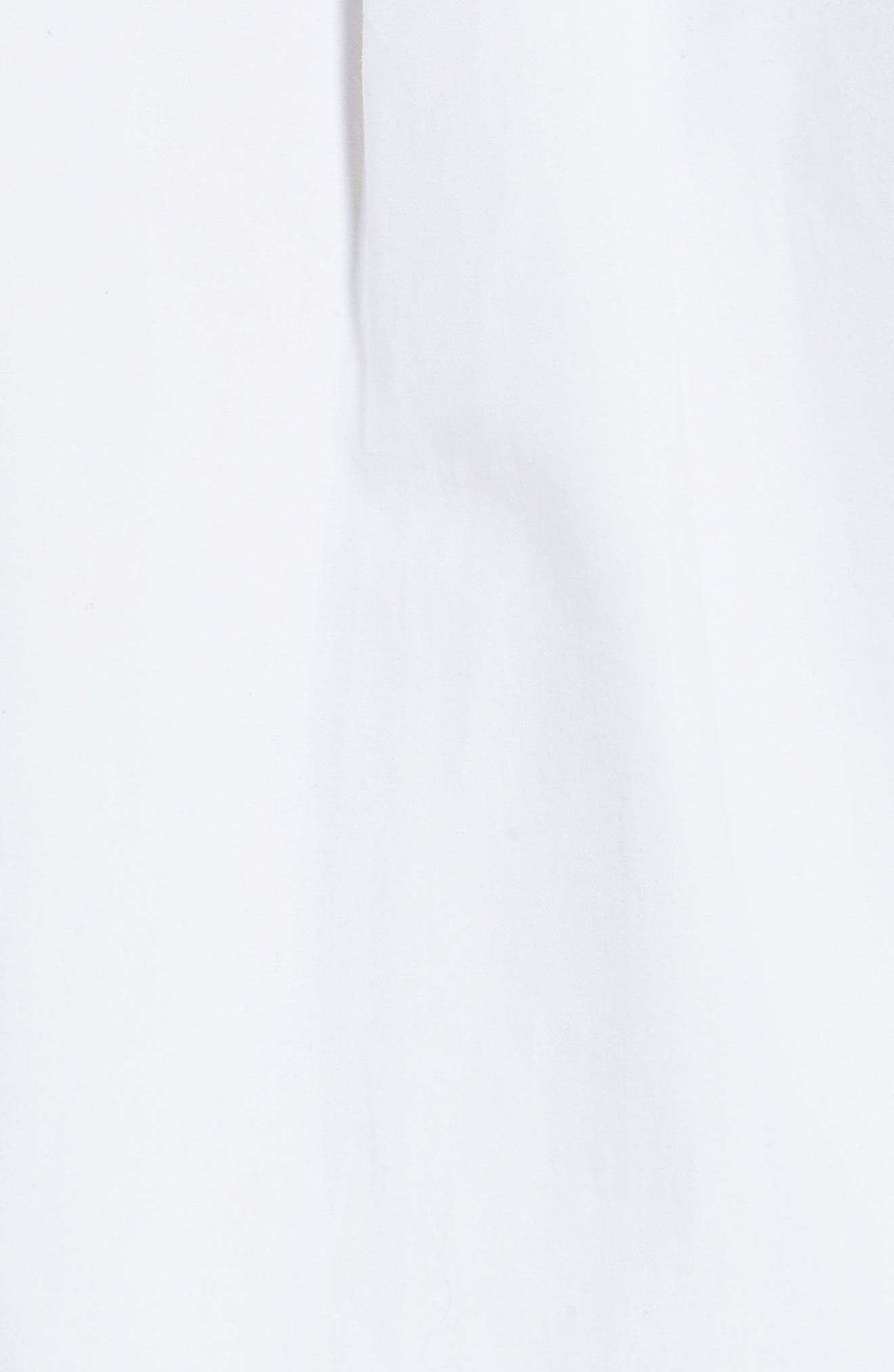 Tie Sleeve Shirt,                             Alternate thumbnail 5, color,                             100