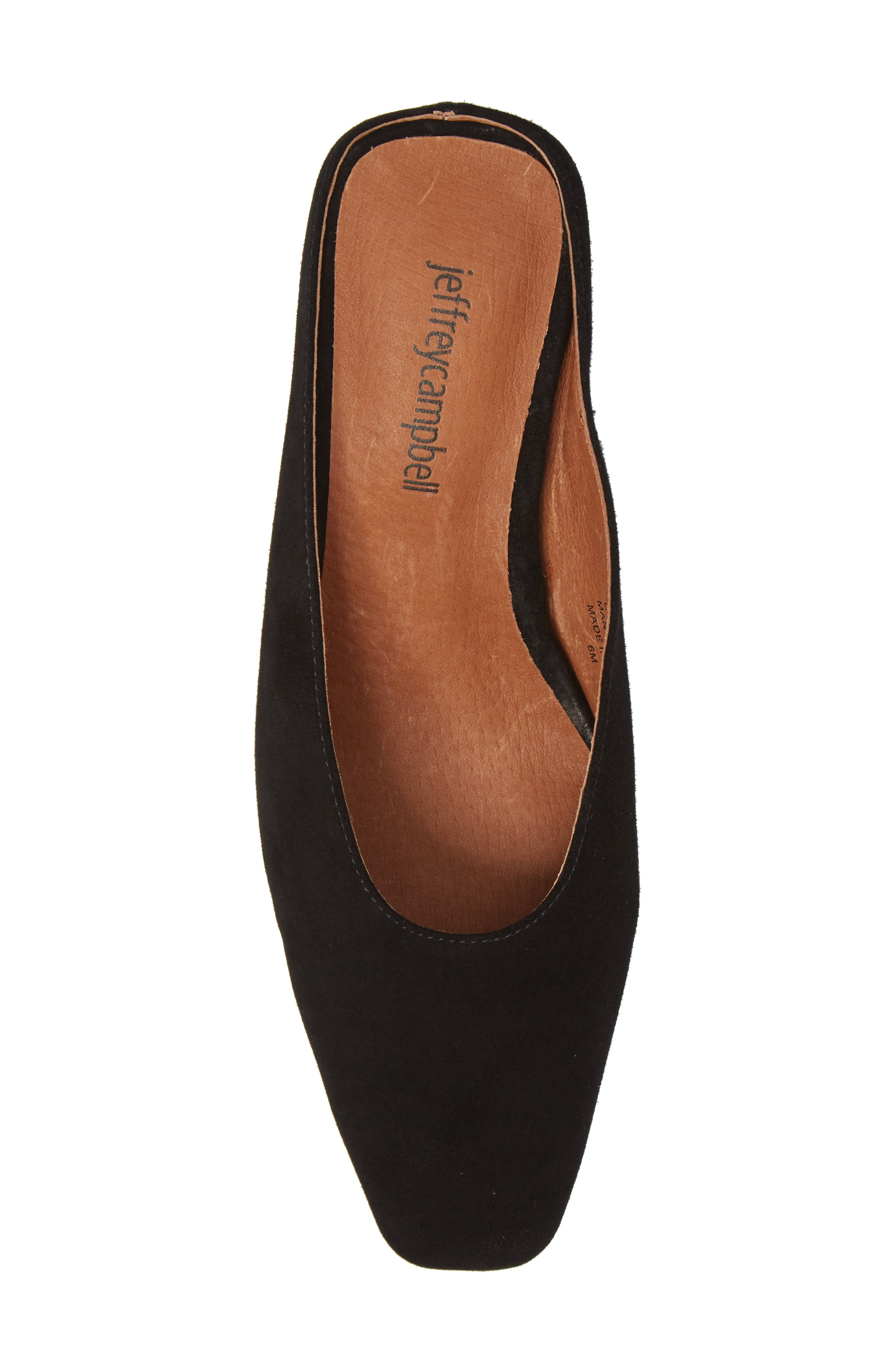 JEFFREY CAMPBELL,                             Cryptic Statement Heel Mule,                             Alternate thumbnail 5, color,                             005