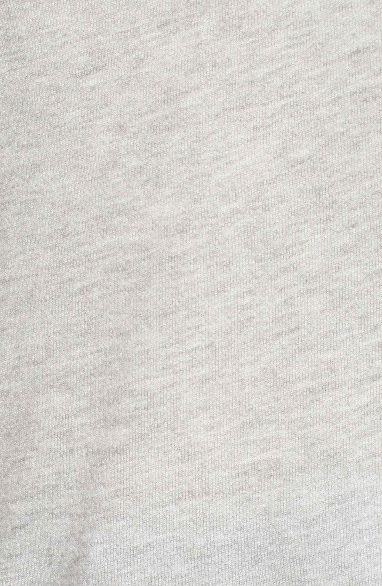Off the Shoulder Sweatshirt,                             Alternate thumbnail 5, color,                             020