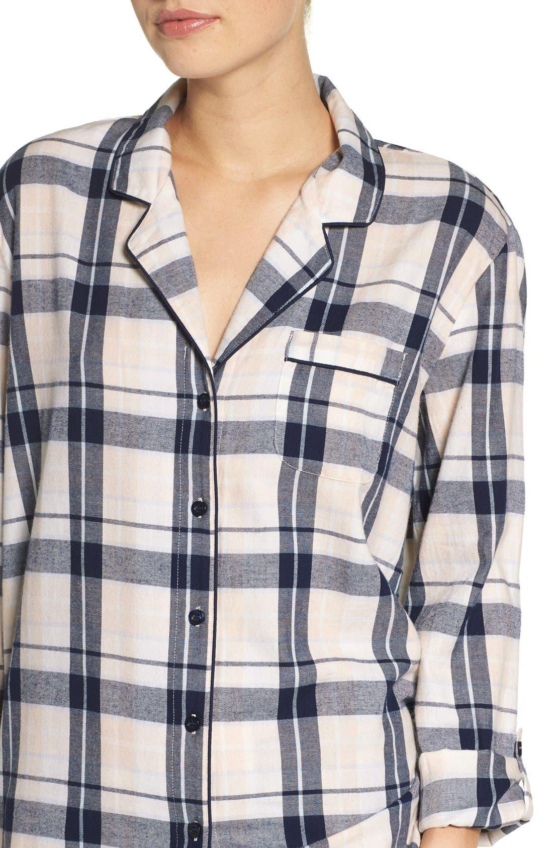 Cotton Twill Pajamas,                             Alternate thumbnail 26, color,