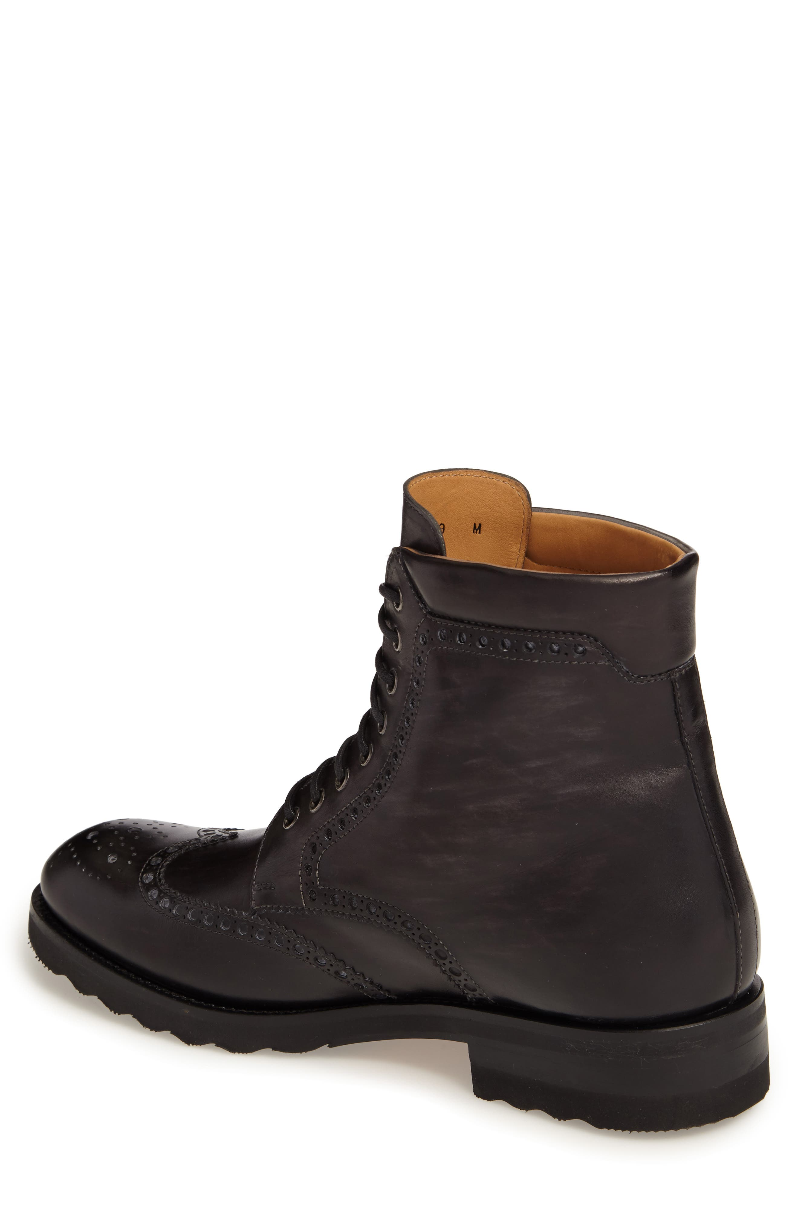 Fairfax Wingtip Boot,                             Alternate thumbnail 2, color,                             020