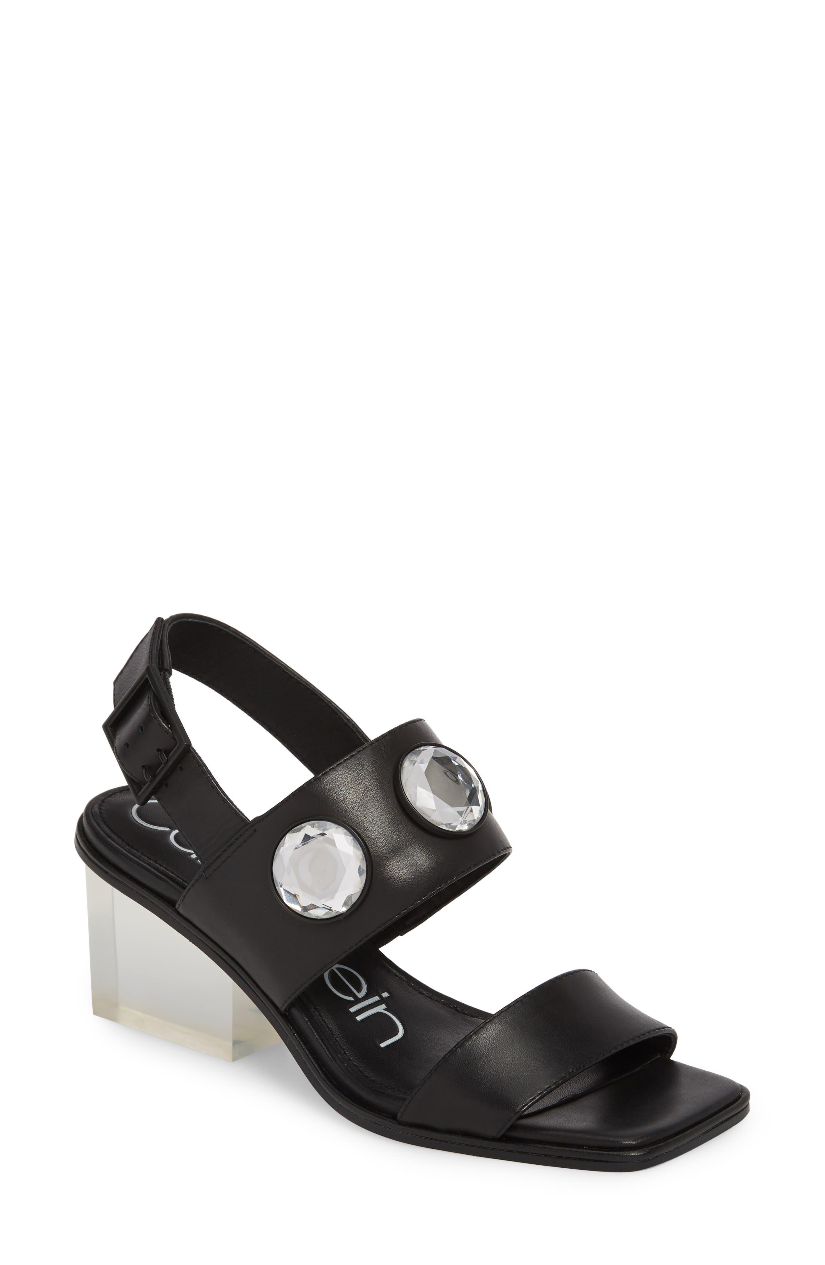 Kadyn Slingback Sandal,                         Main,                         color, 001