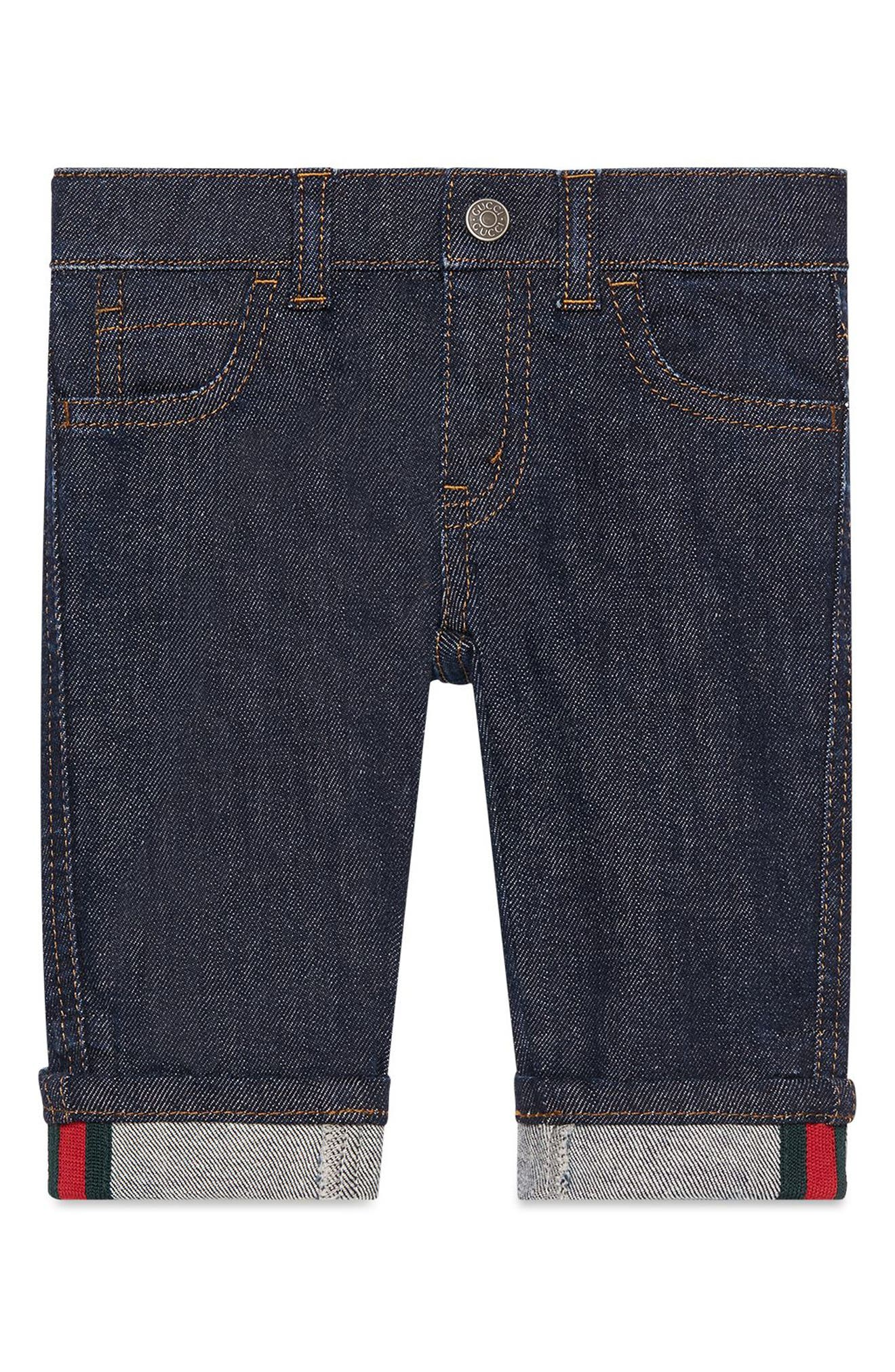 Straight Leg Jeans,                         Main,                         color, INDIGO