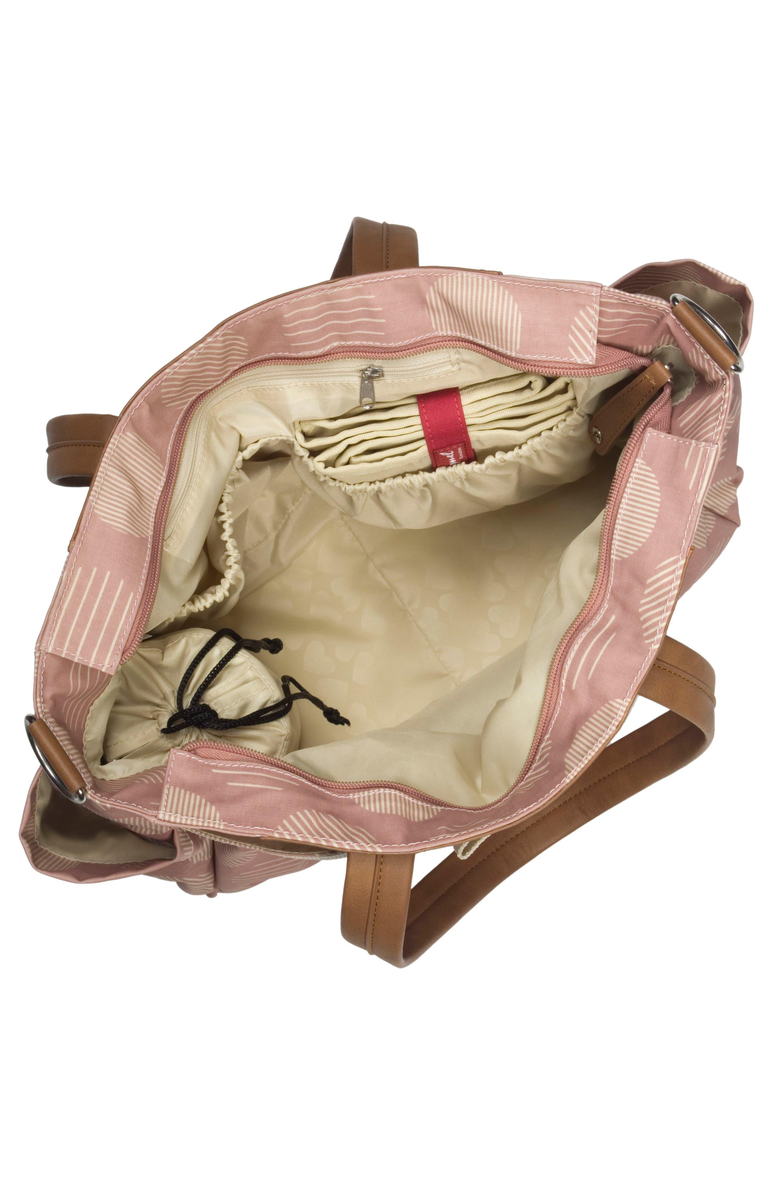 'Cara' Diaper Bag,                             Alternate thumbnail 4, color,                             RETRO OYSTER