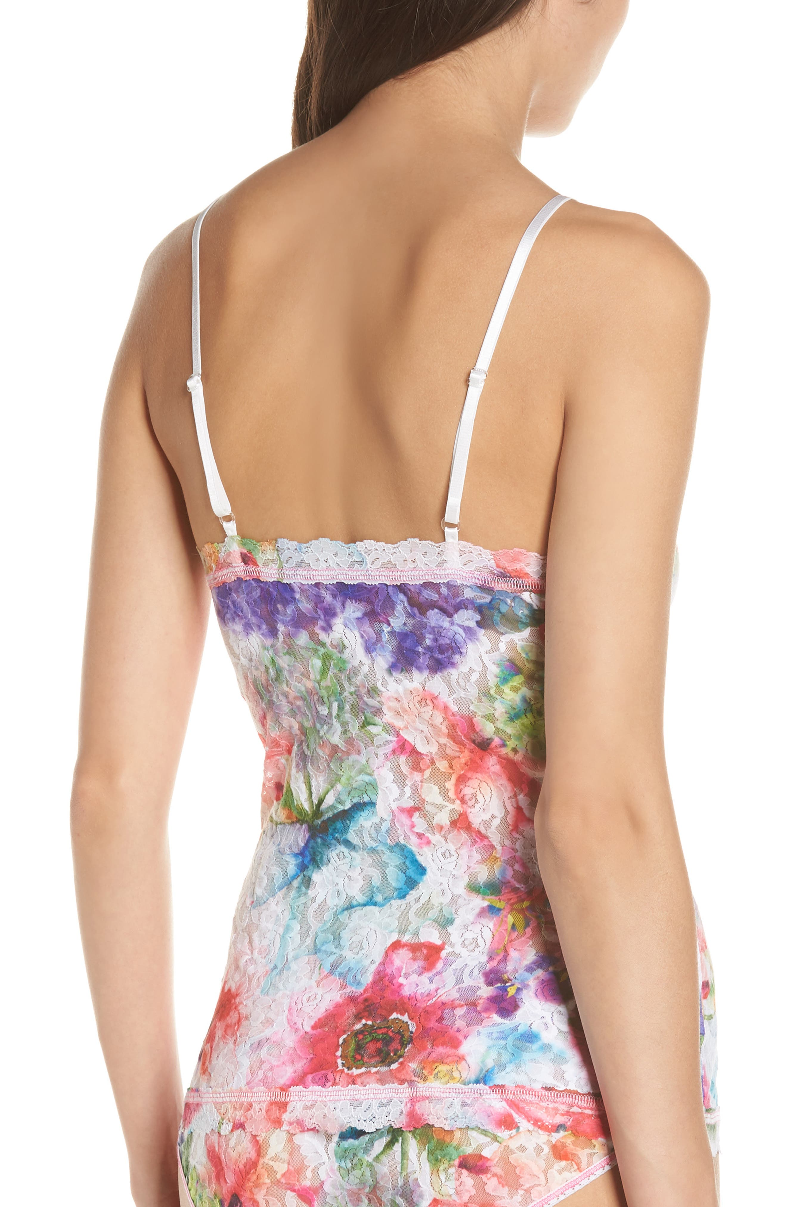 Impressionista Camisole,                             Alternate thumbnail 2, color,                             WHITE/ MULTI