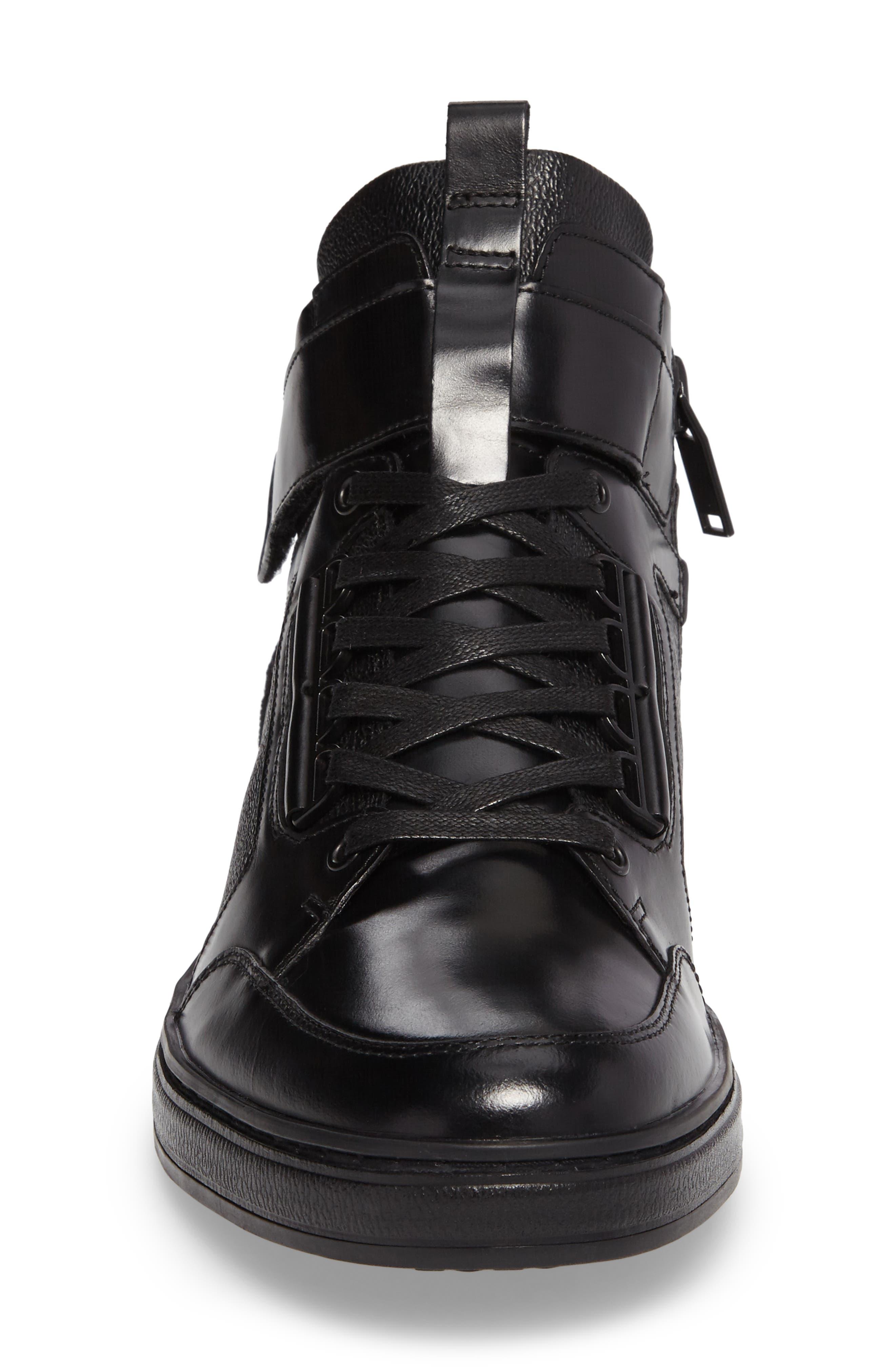 Brand-Y Sneaker,                             Alternate thumbnail 4, color,                             001