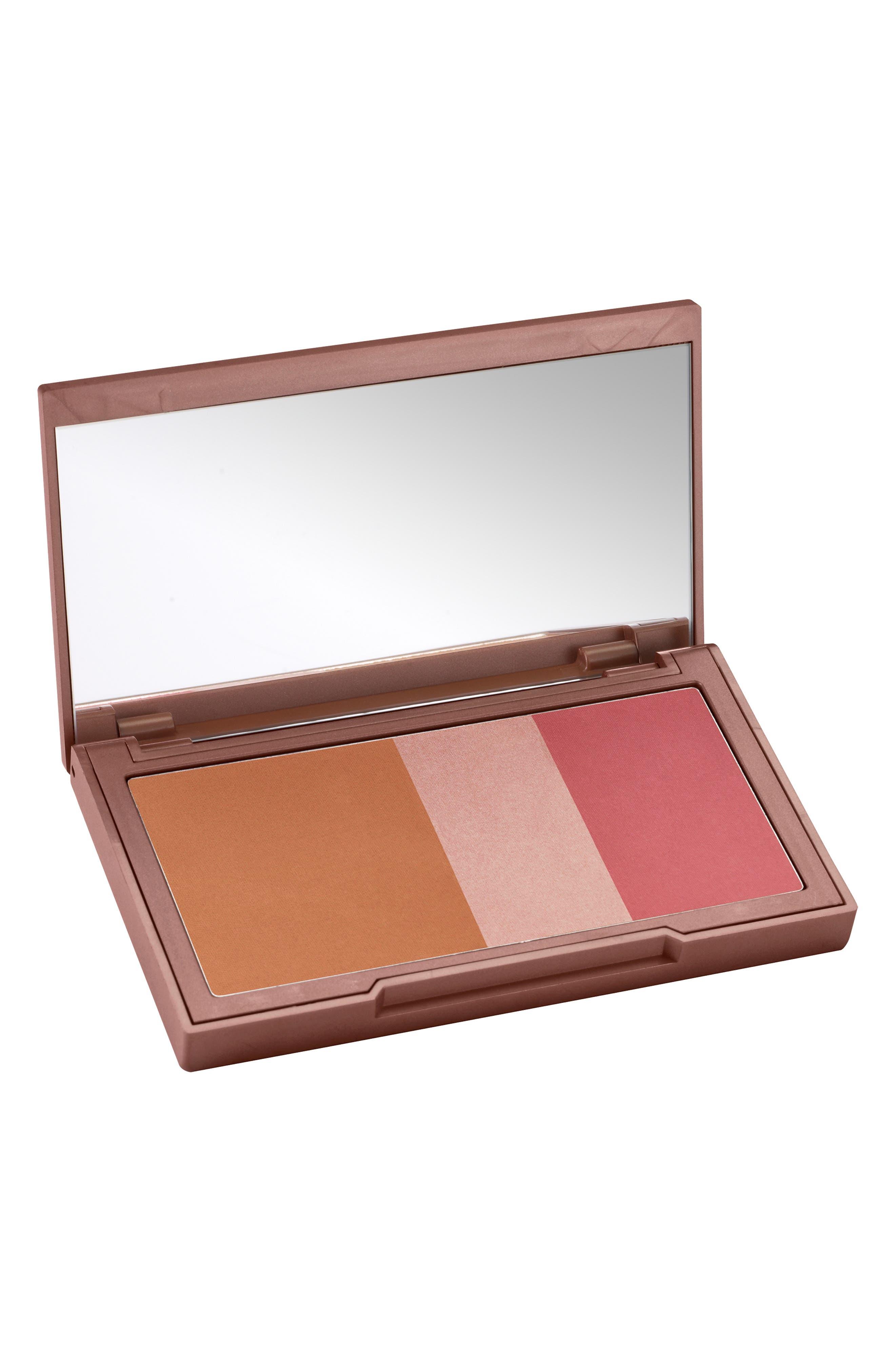 Naked Flushed Bronzer, Highlighter & Blush Palette,                         Main,                         color, NAKED