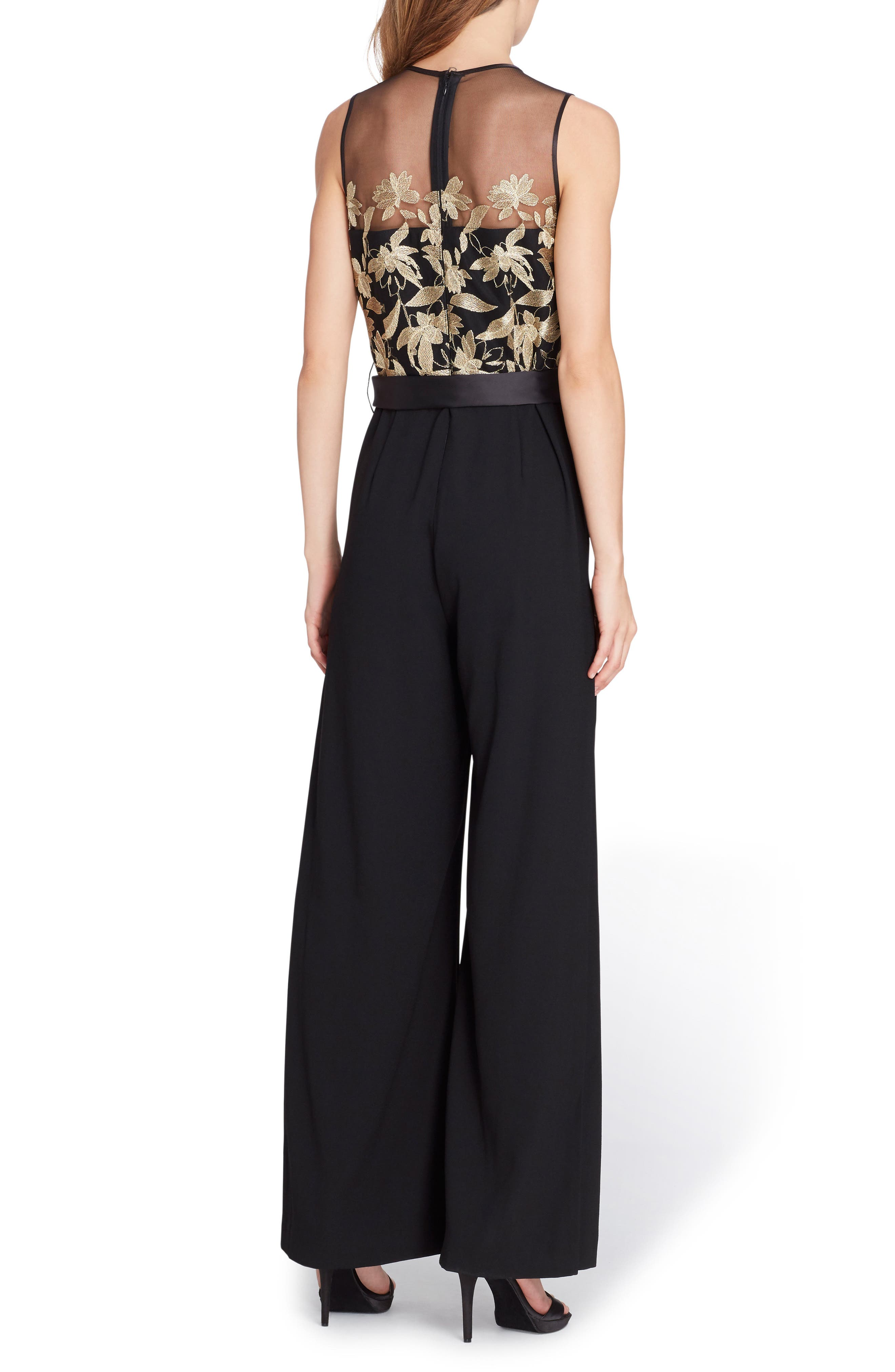 Embroidered Jumpsuit,                             Alternate thumbnail 2, color,                             715