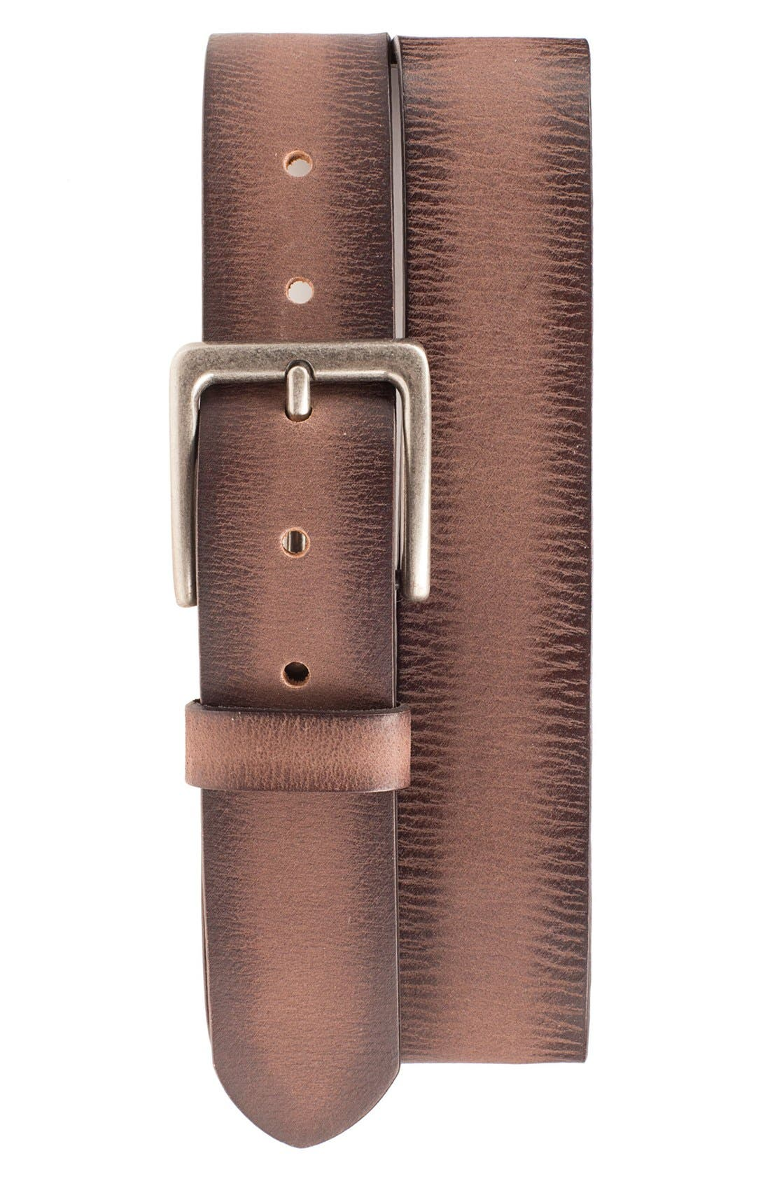'Easy Rider' Leather Belt,                             Main thumbnail 2, color,