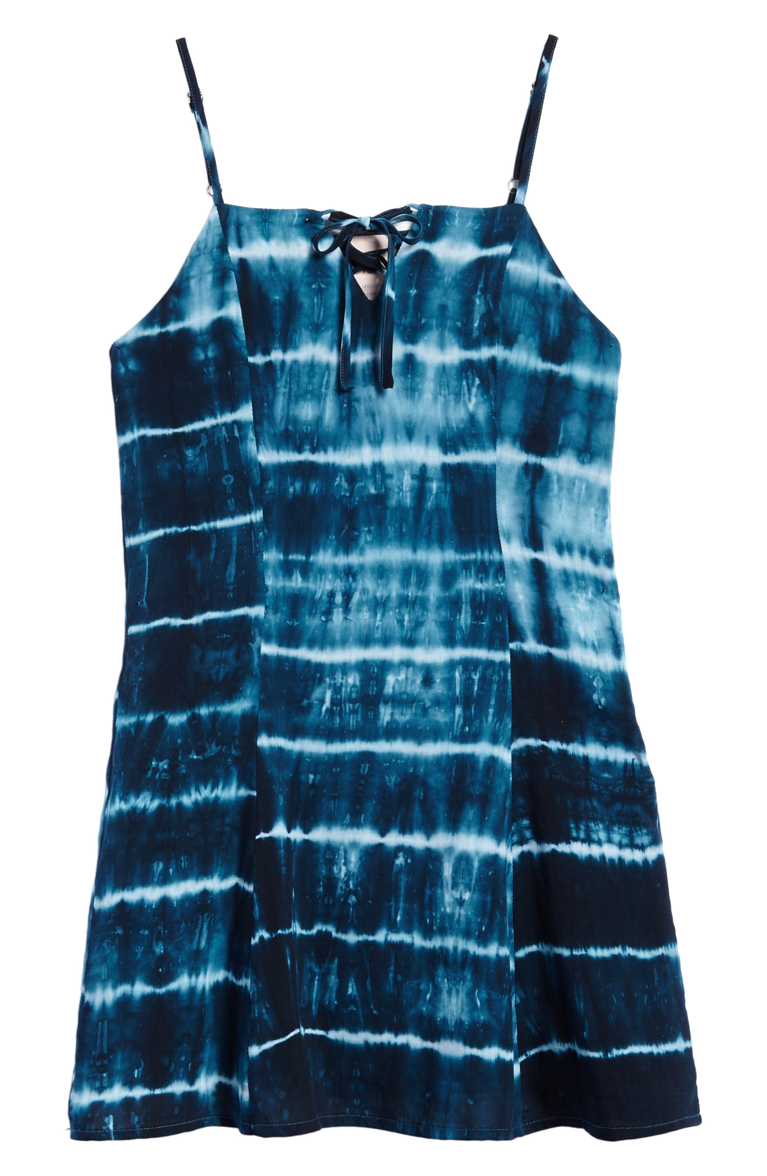 Tie Dye Tank Dress,                             Main thumbnail 1, color,                             400