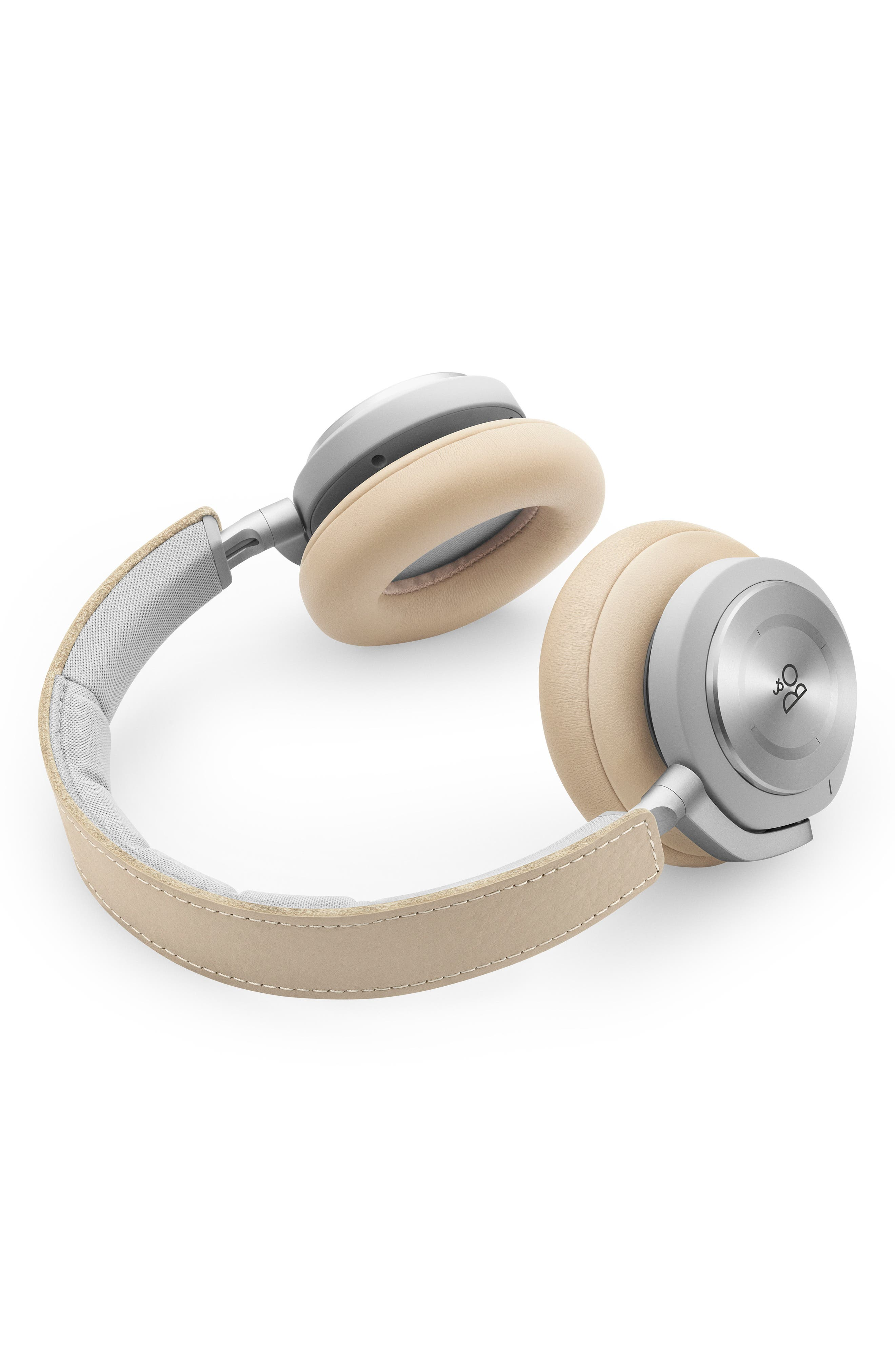 Beoplay H9I Noise Canceling Bluetooth<sup>®</sup> Headphones,                             Alternate thumbnail 5, color,                             NATURAL