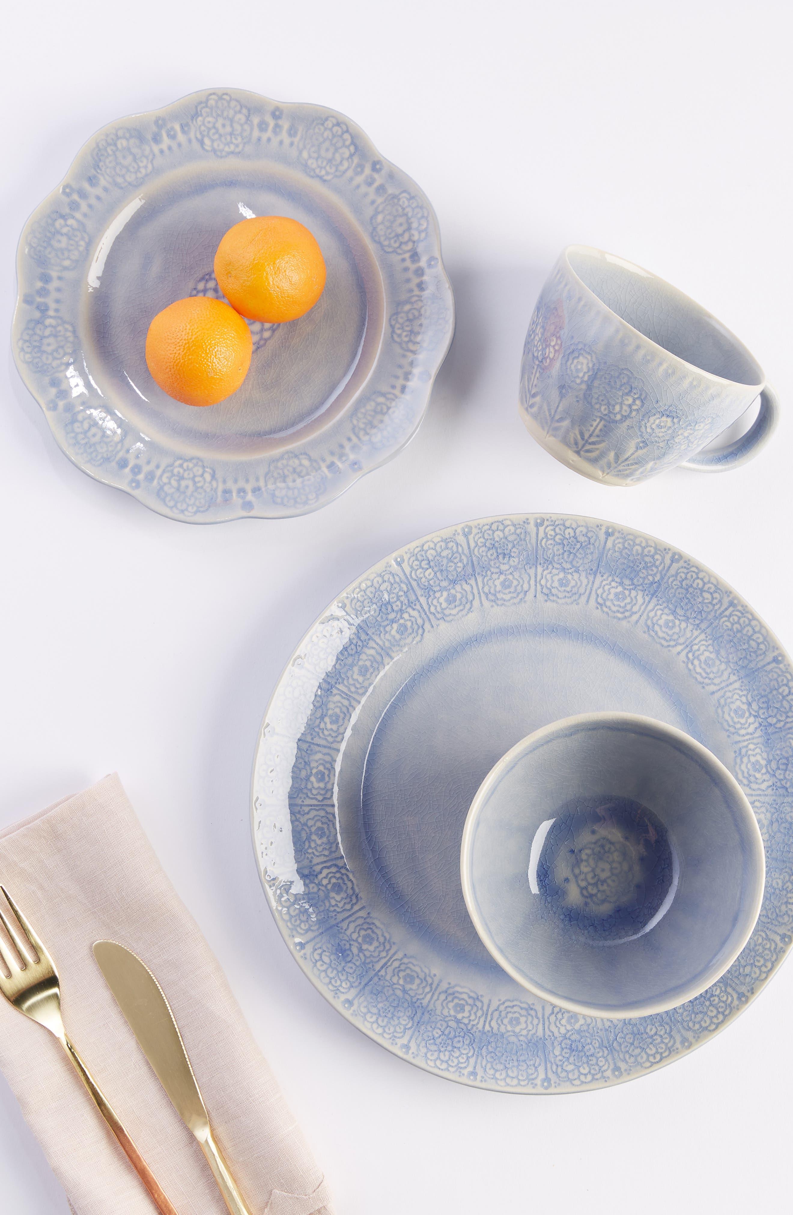 ANTHROPOLOGIE,                             Veru Dinner Plate,                             Alternate thumbnail 3, color,                             PERI