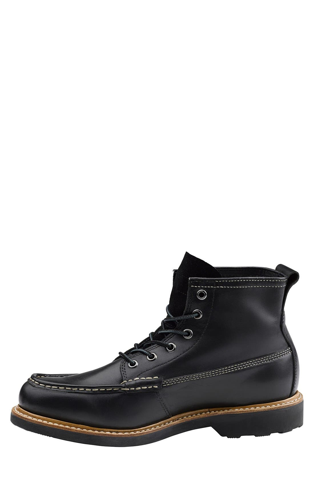 'Ashby' Moc Toe Boot,                             Alternate thumbnail 4, color,