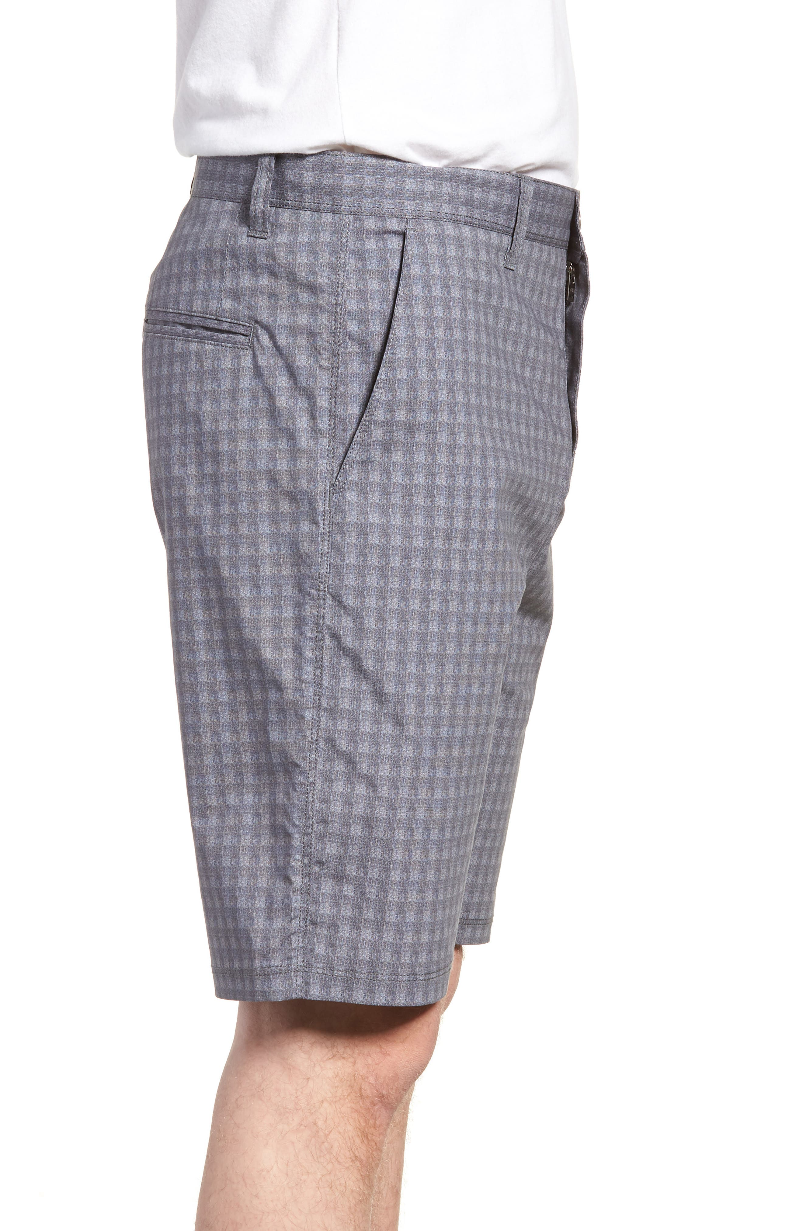 Tristen Check Shorts,                             Alternate thumbnail 3, color,
