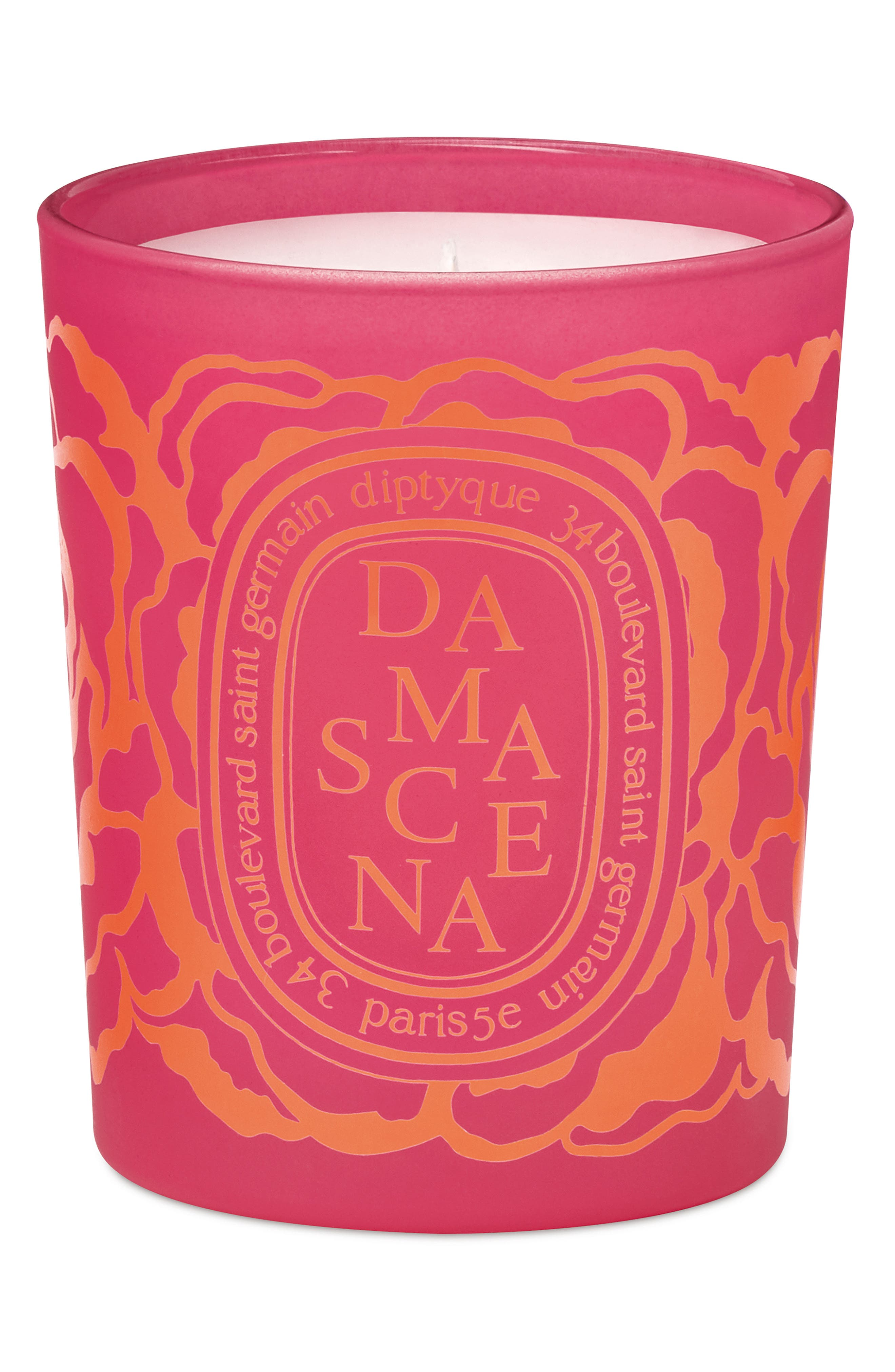 Roses Damascena Scented Candle,                             Main thumbnail 1, color,                             NO COLOR