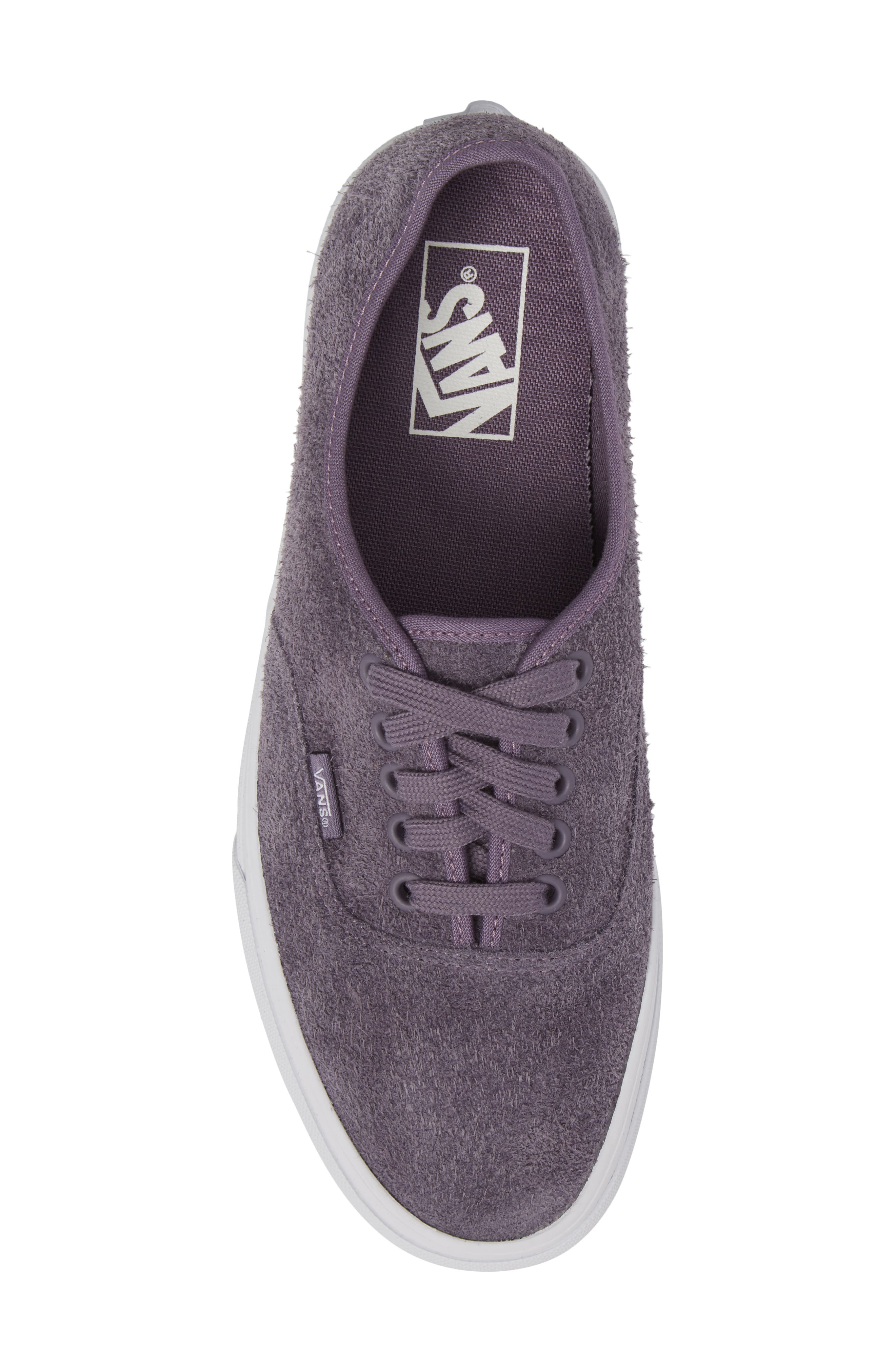 Authentic Hairy Suede Low Top Sneaker,                             Alternate thumbnail 5, color,                             510