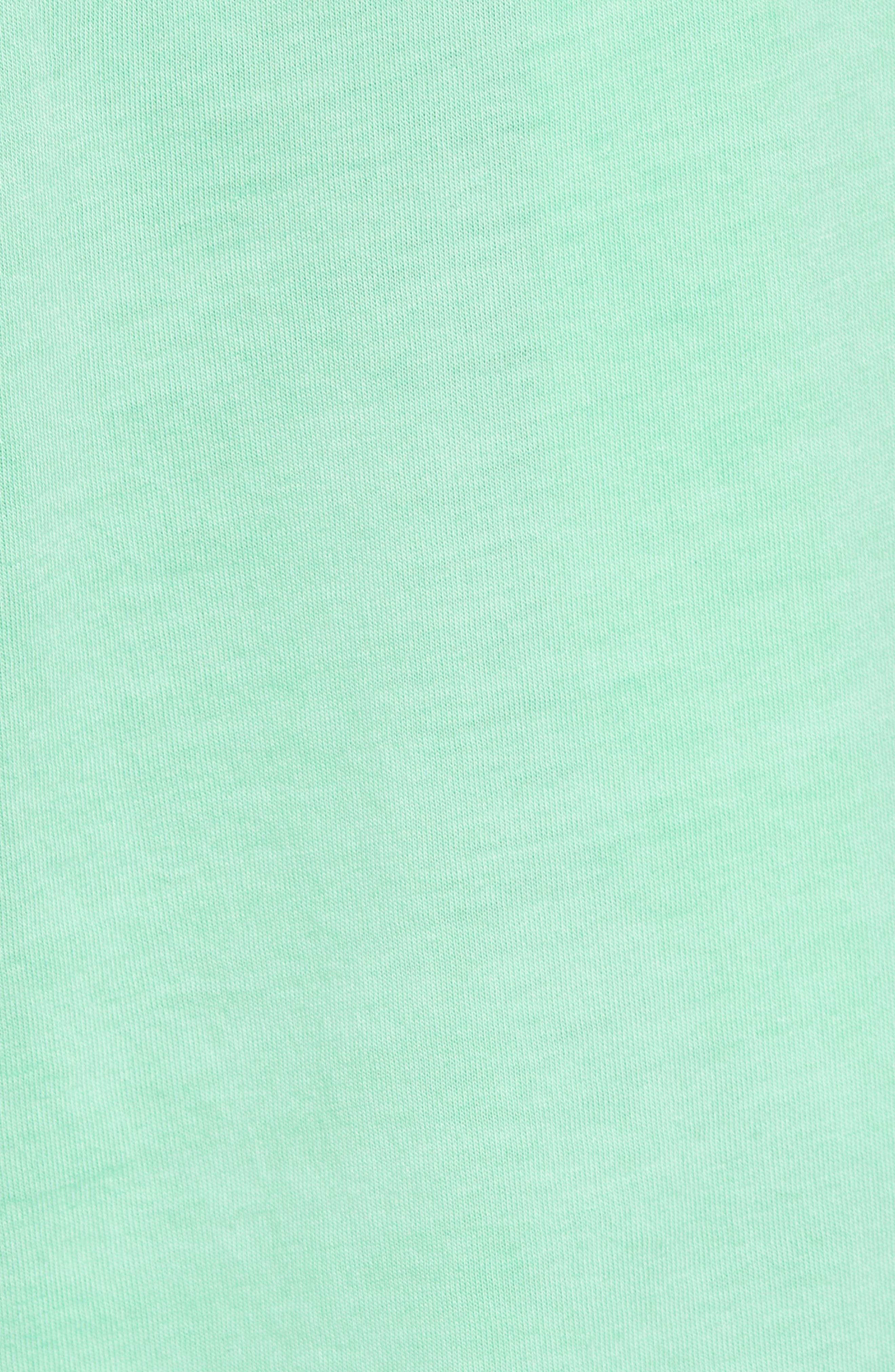 Peruvian Pima Cotton Lounge Shorts,                             Alternate thumbnail 5, color,                             LIME