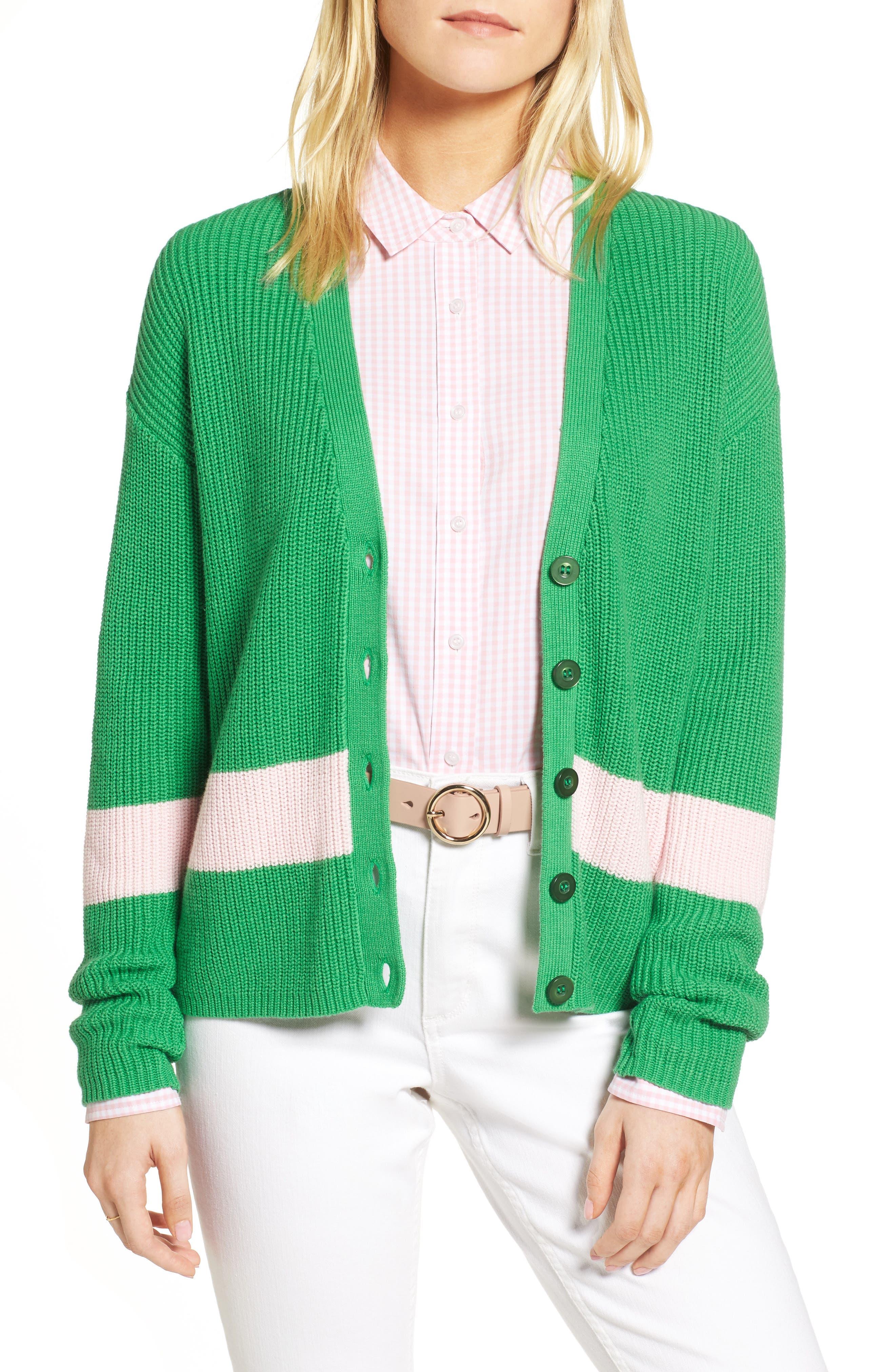 Shaker Knit Cardigan,                             Main thumbnail 3, color,
