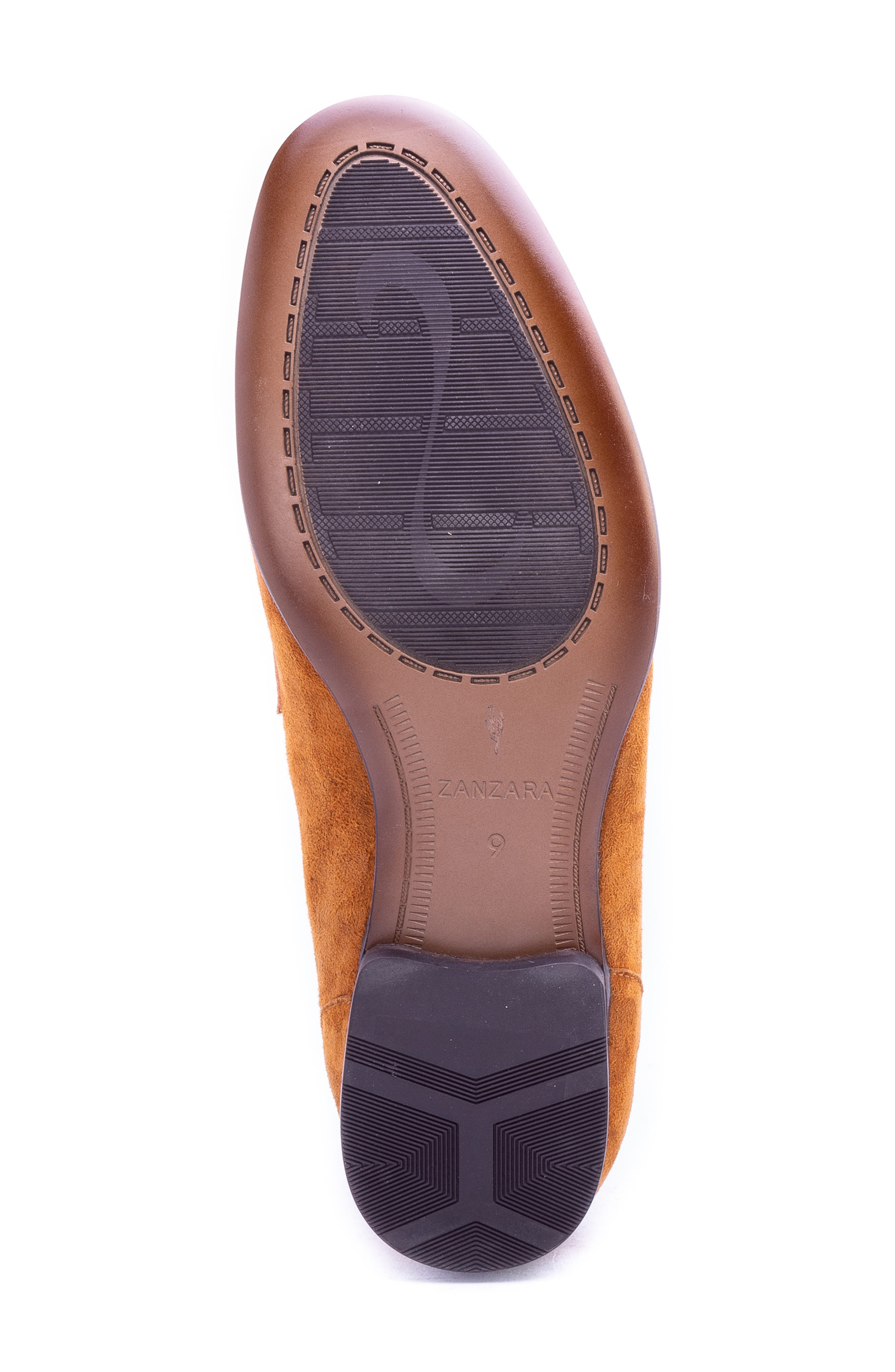 Opie Penny Loafer,                             Alternate thumbnail 6, color,                             COGNAC SUEDE/ LEATHER