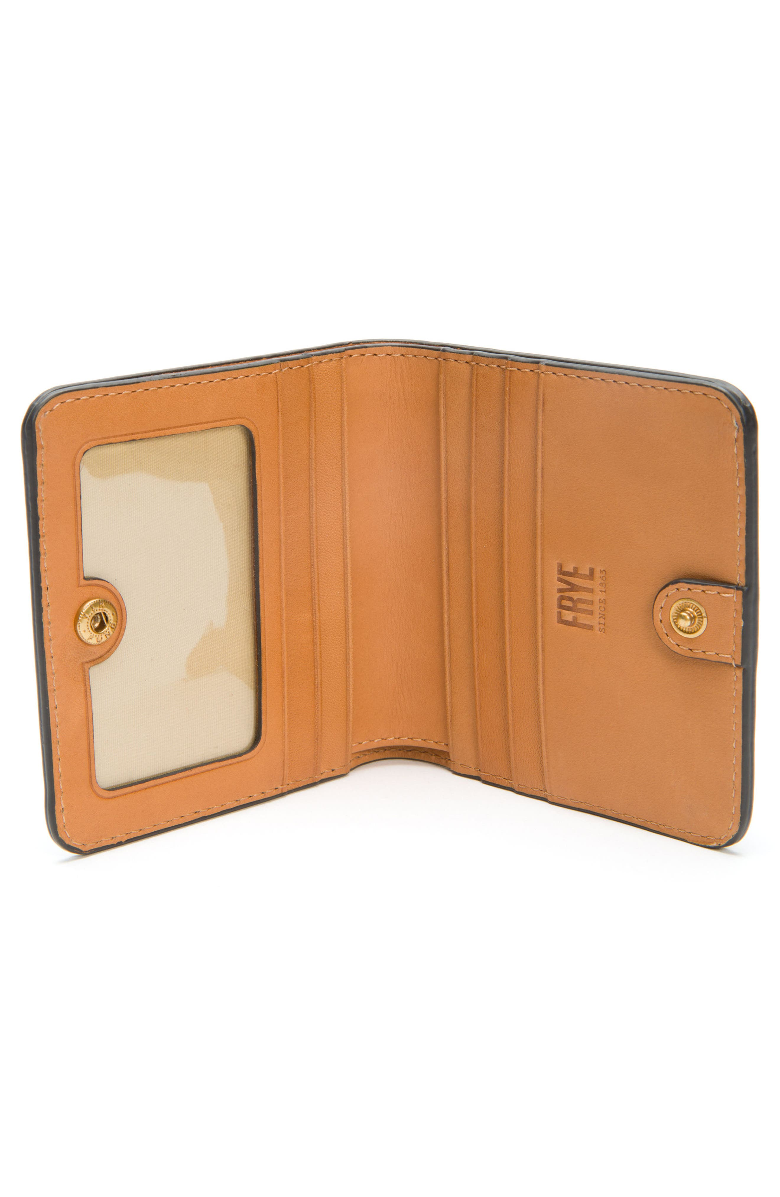 Carson Small Leather Wallet,                             Alternate thumbnail 2, color,                             001